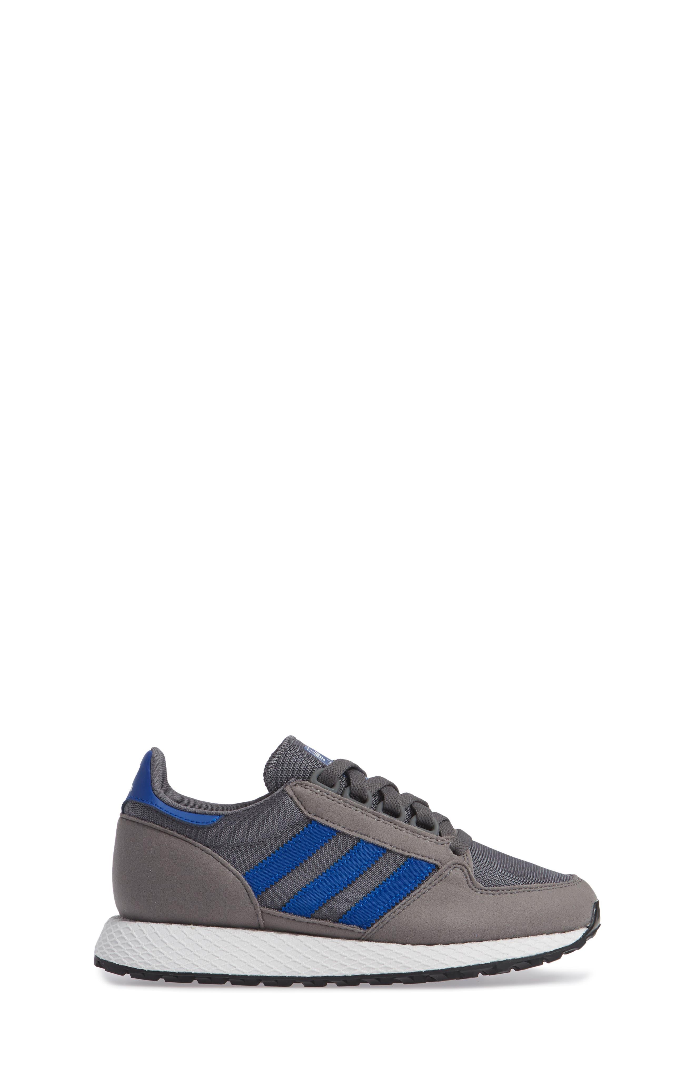 Forest Grove Sneaker,                             Alternate thumbnail 3, color,                             GREY/ COLLEGIATE ROYAL/ WHITE