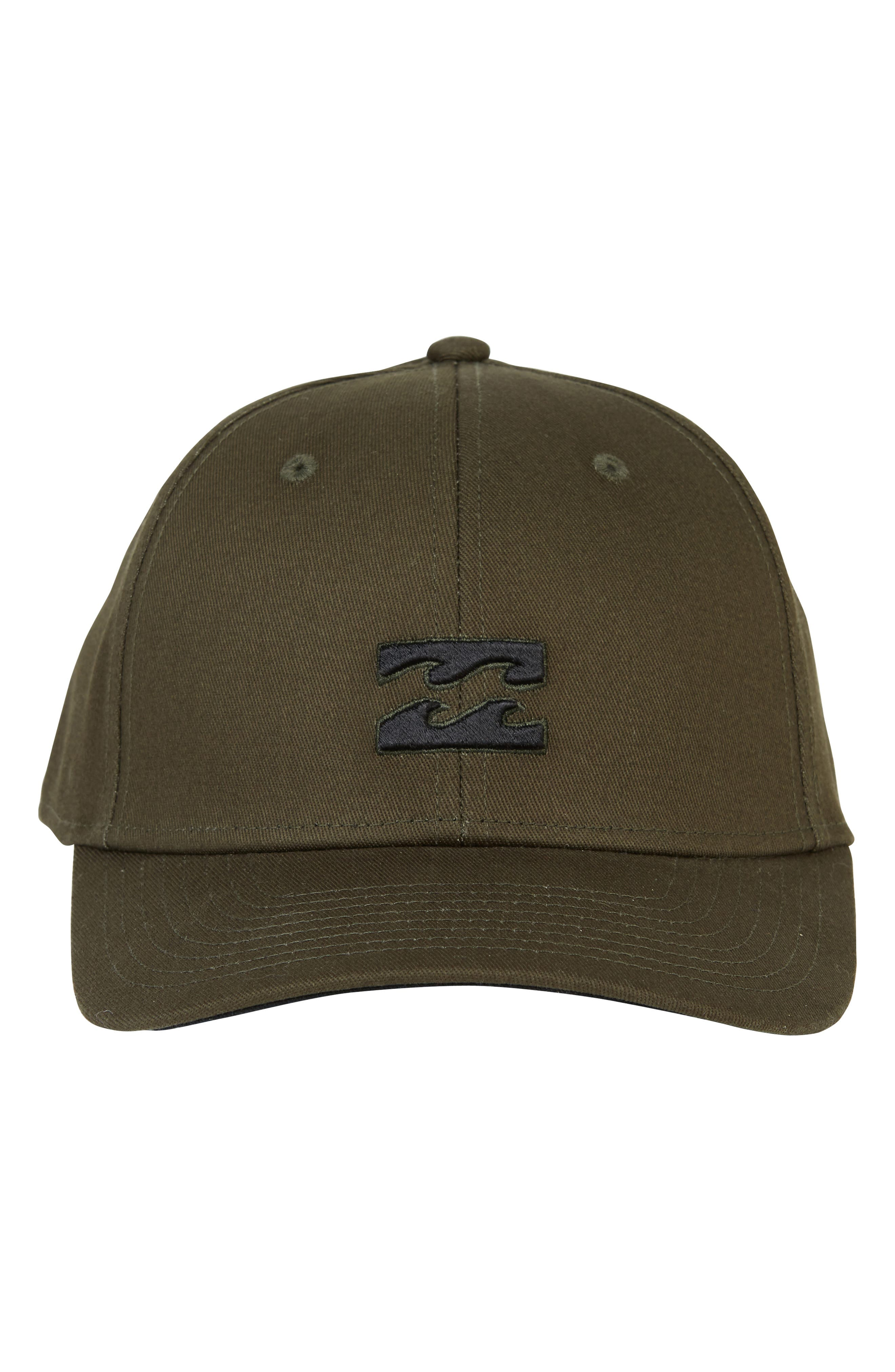 All Day Stretch Baseball Cap,                             Alternate thumbnail 2, color,                             OLIVE