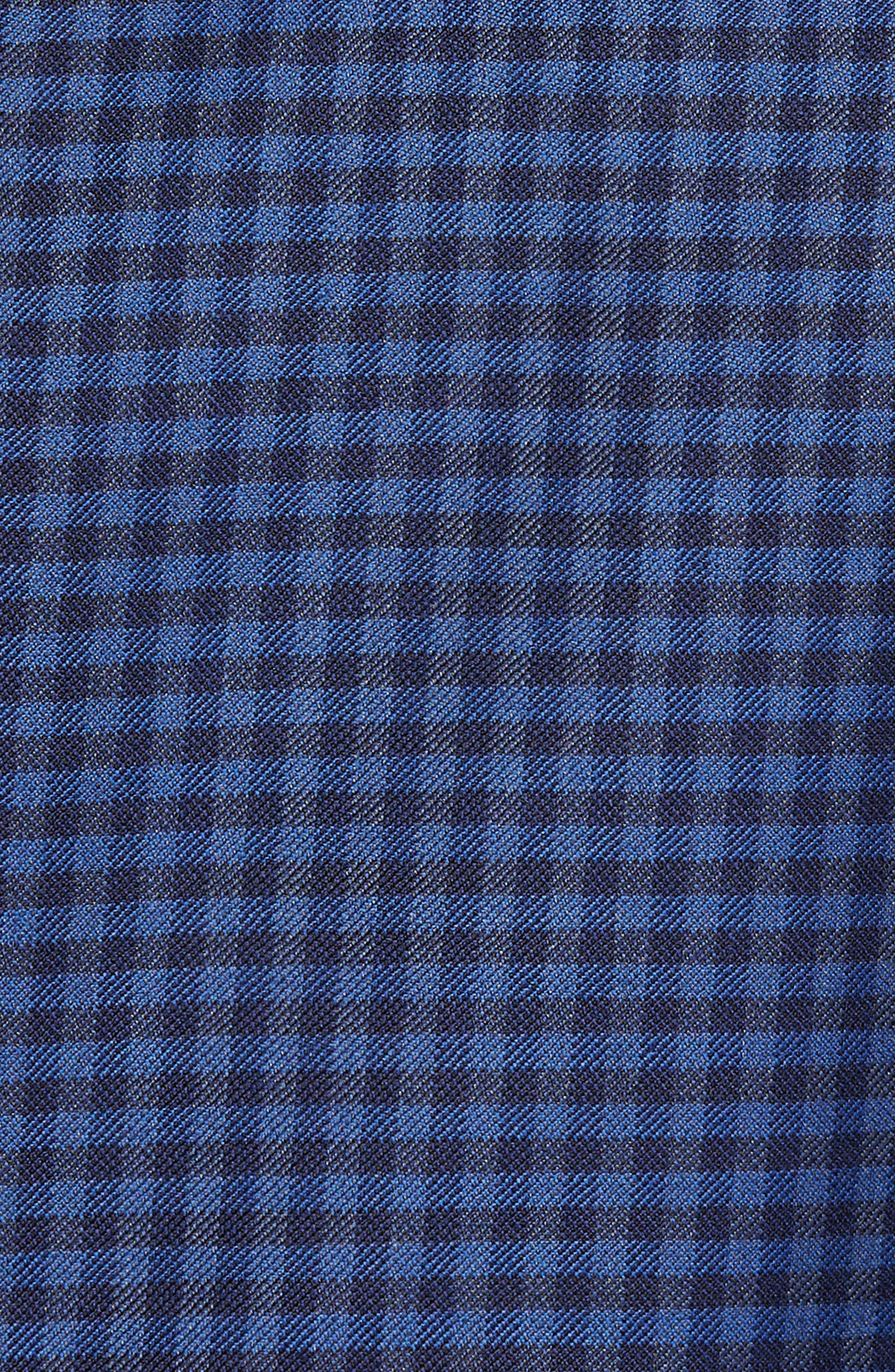 Connor Classic Fit Check Wool Sport Coat,                             Alternate thumbnail 6, color,                             420