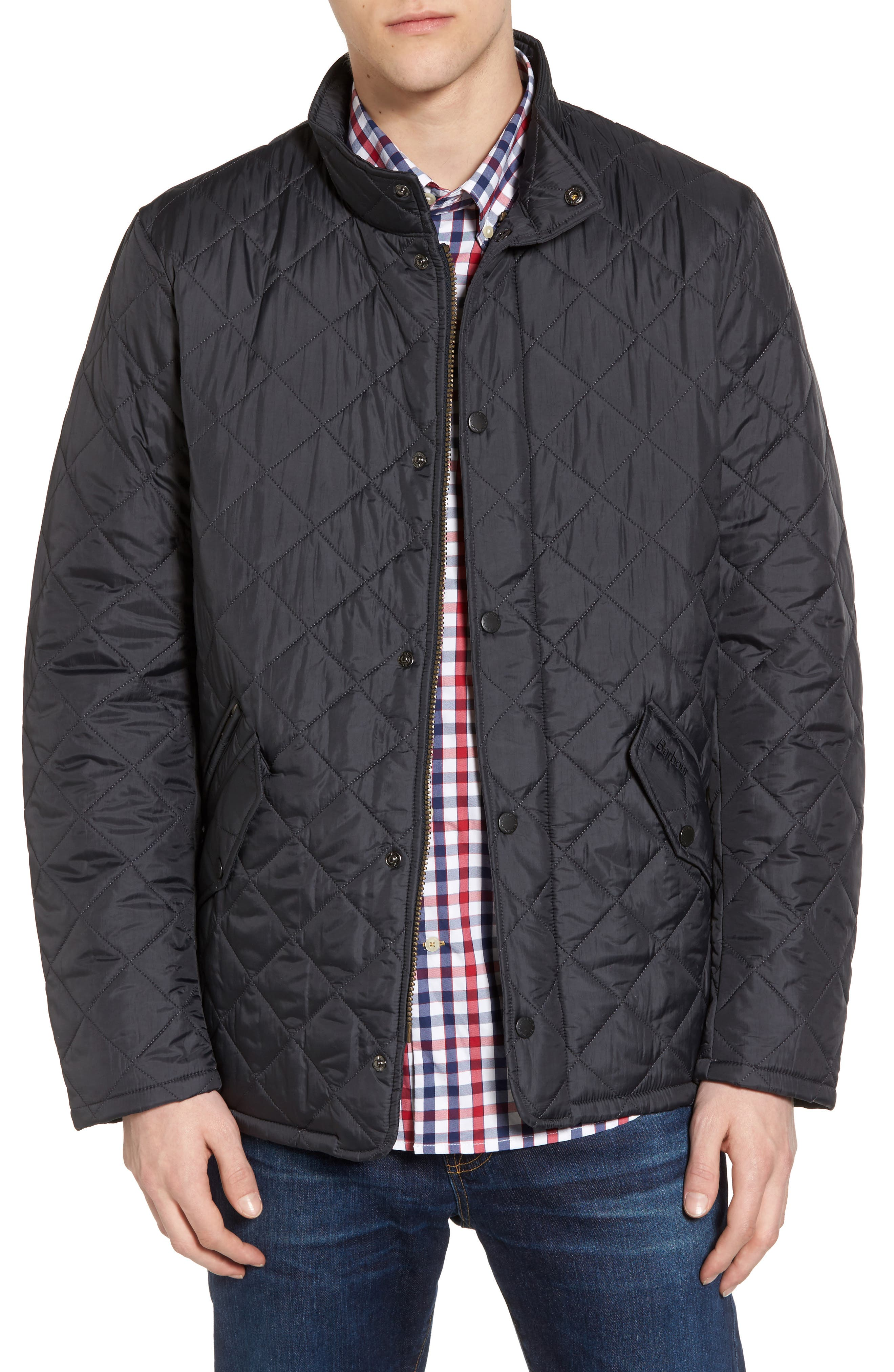 Barbour Flyweight Chelsea Quilted Jacket, Blue