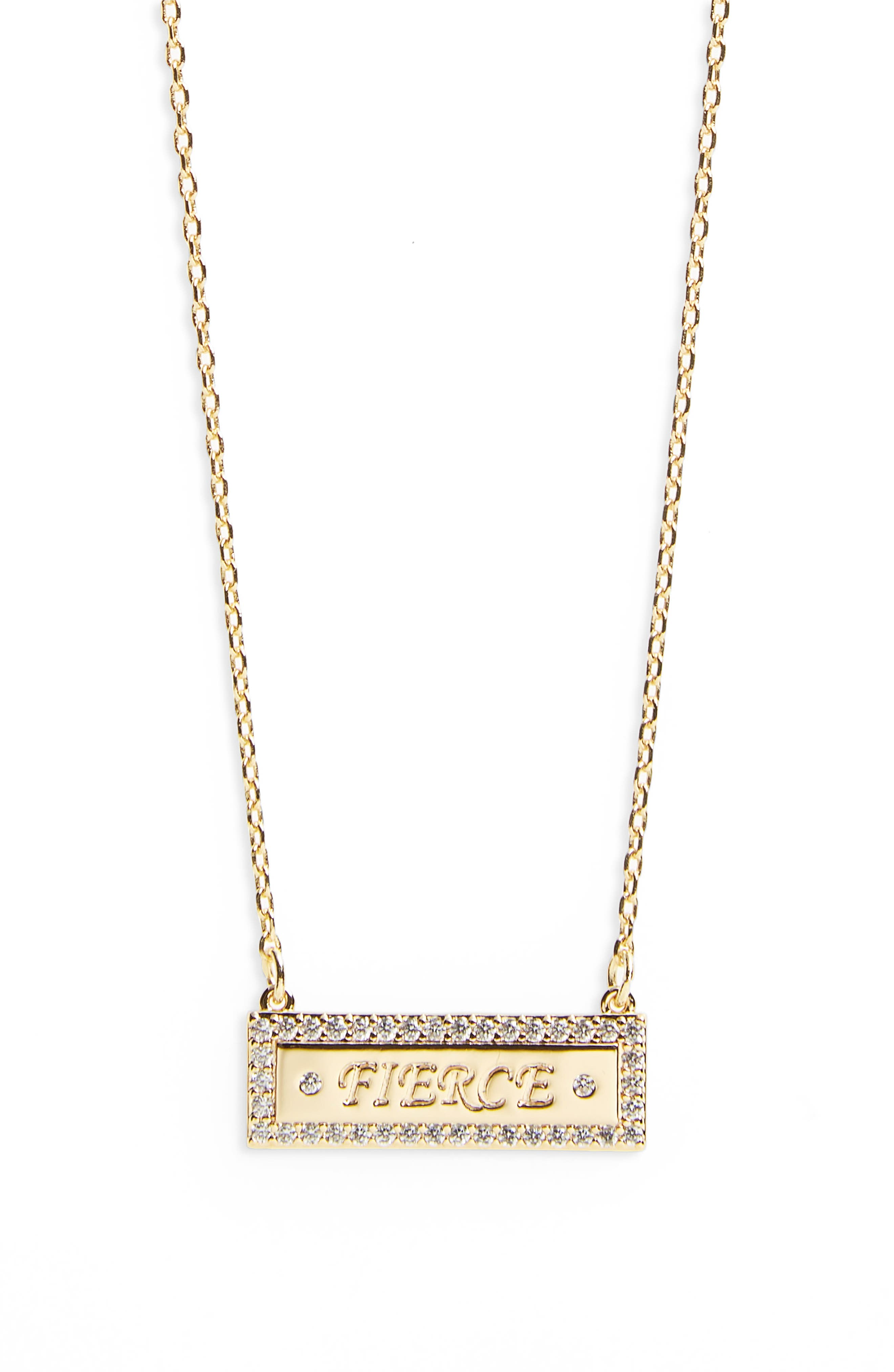 Bar Necklace,                         Main,                         color,