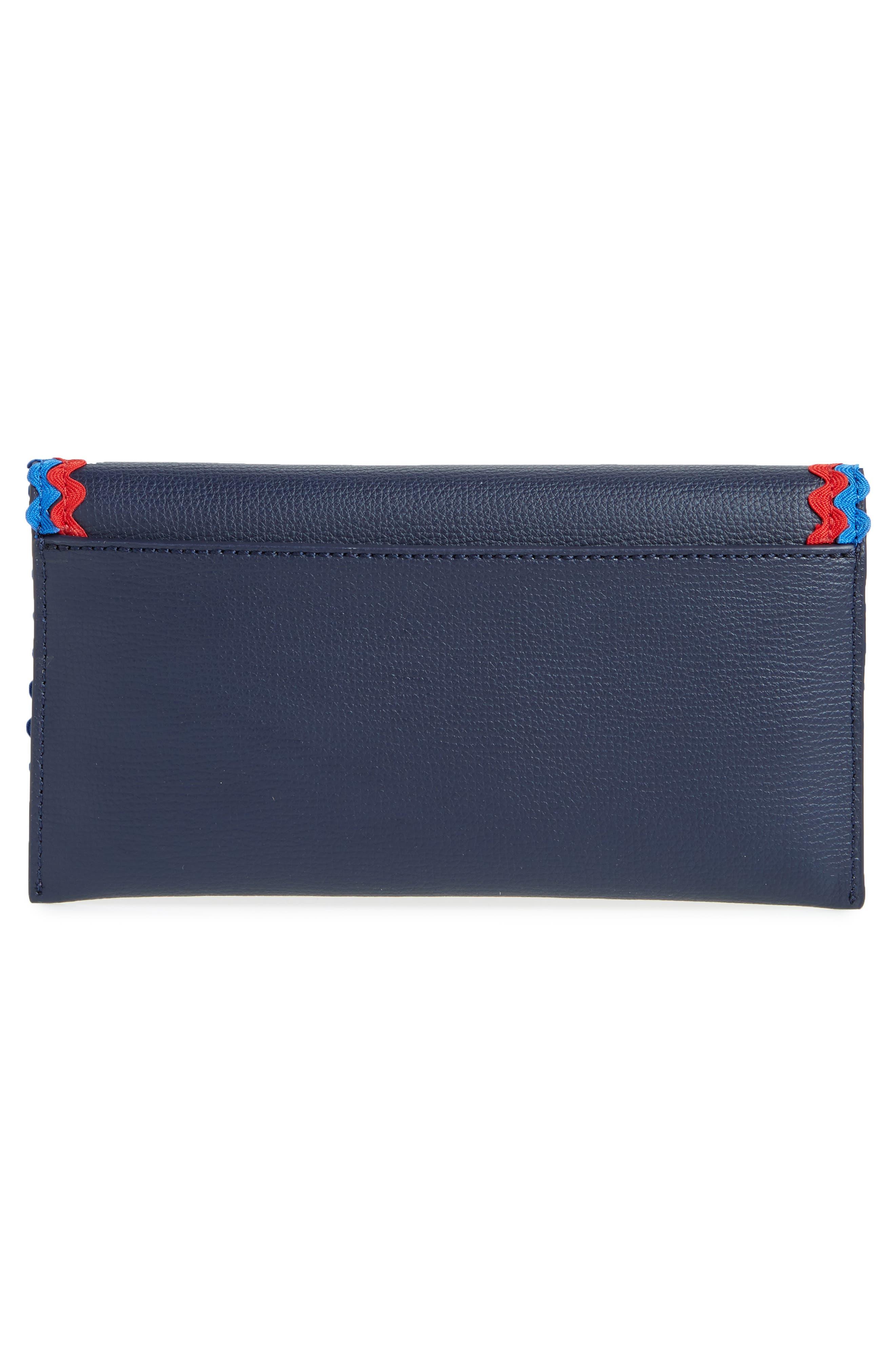 Eveything Embellished Leather Wallet,                             Alternate thumbnail 10, color,
