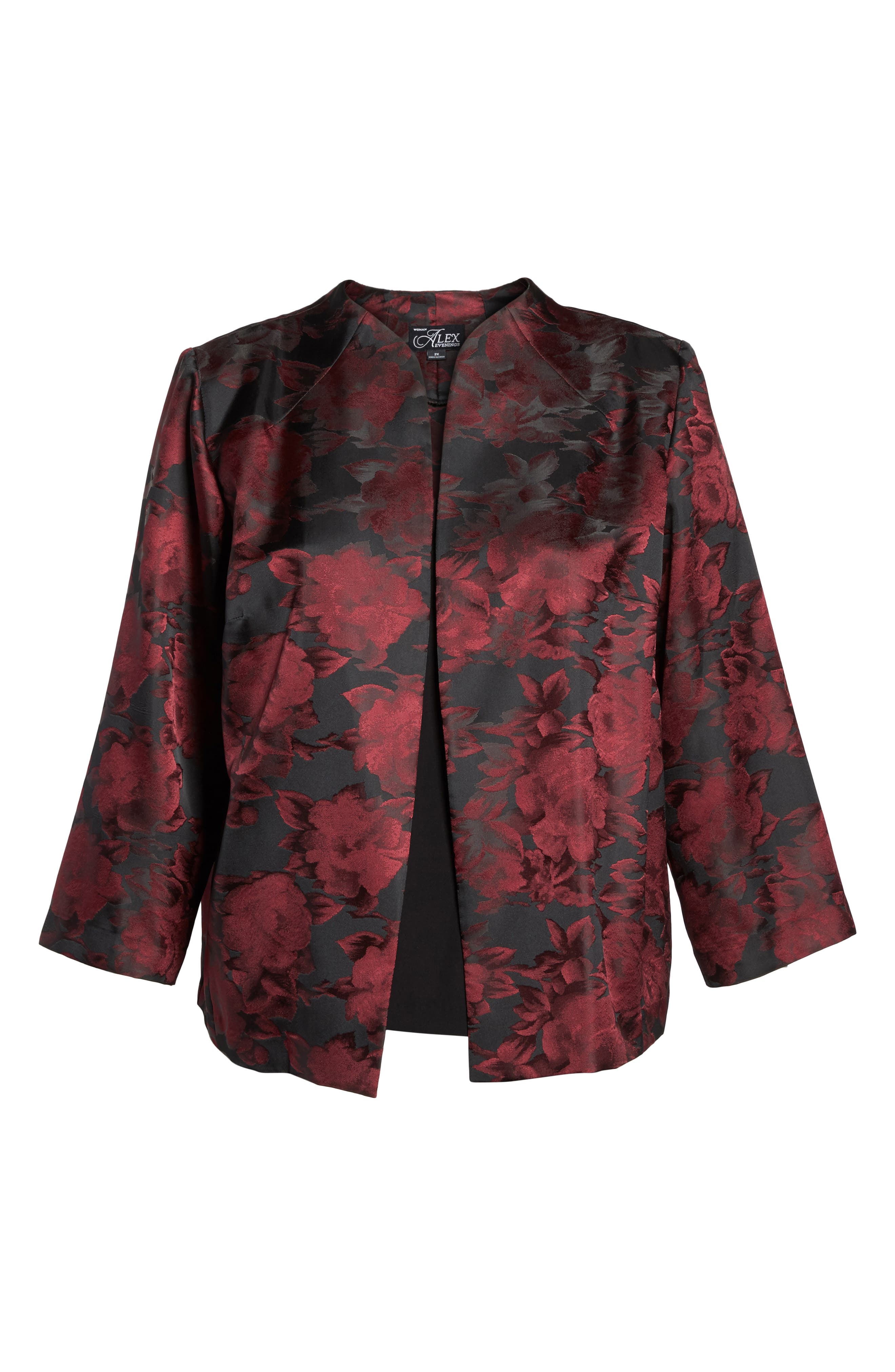 Floral Print Twinset,                             Alternate thumbnail 6, color,                             645