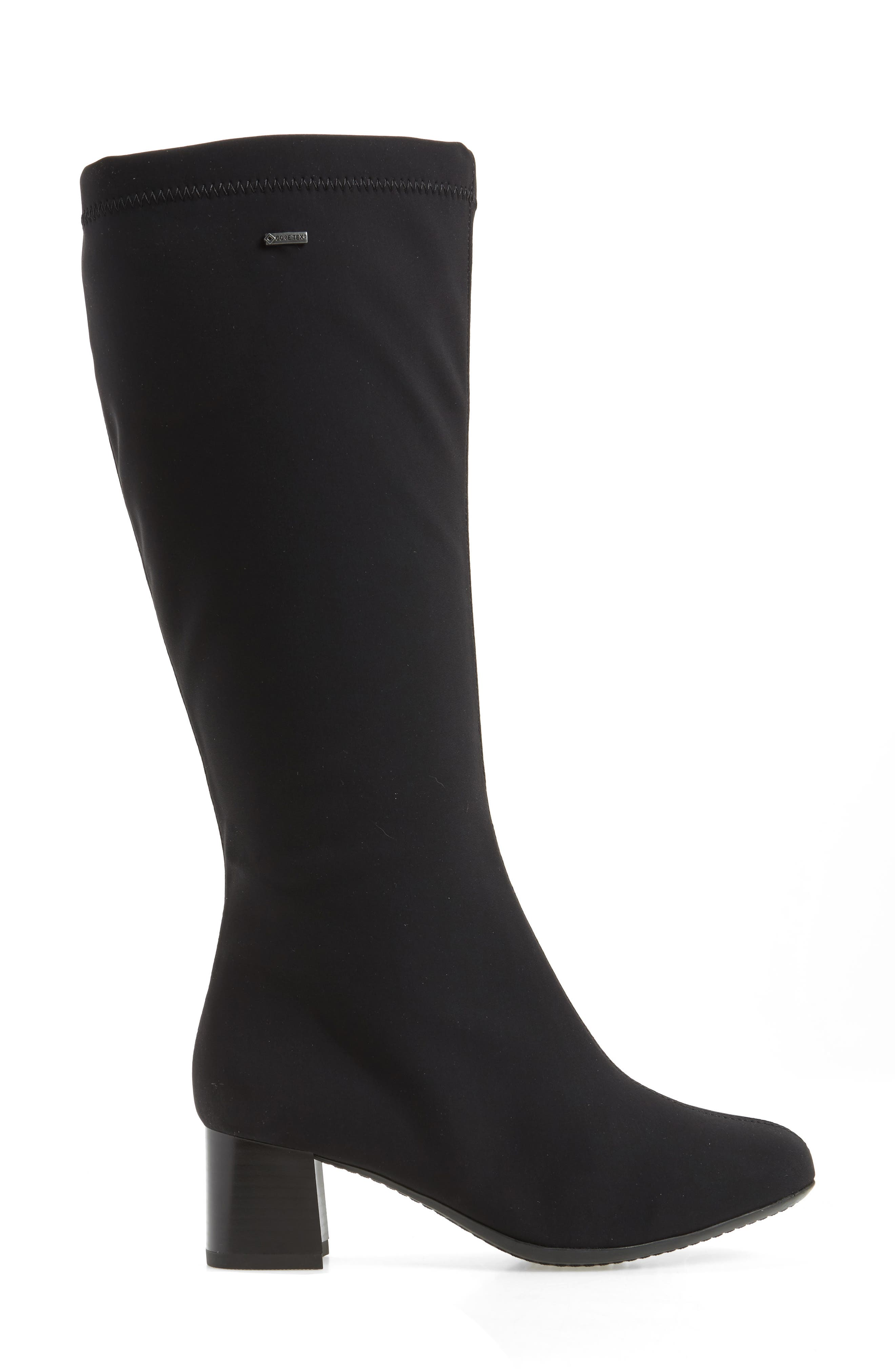Clarissa Waterproof Gore-Tex<sup>®</sup> Tall Boot,                             Alternate thumbnail 3, color,                             001