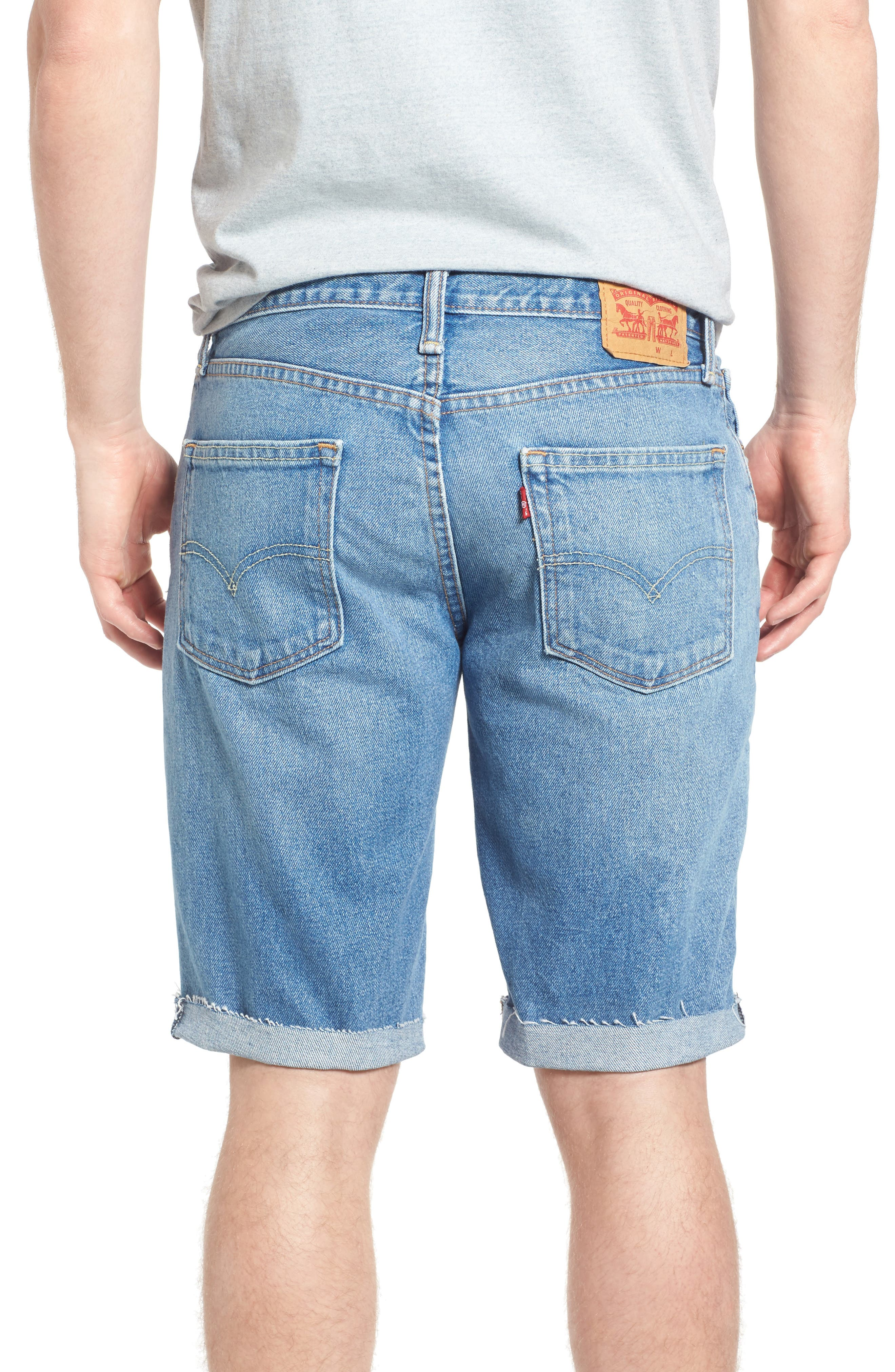 511<sup>™</sup> Cutoff Denim Shorts,                             Alternate thumbnail 2, color,                             420