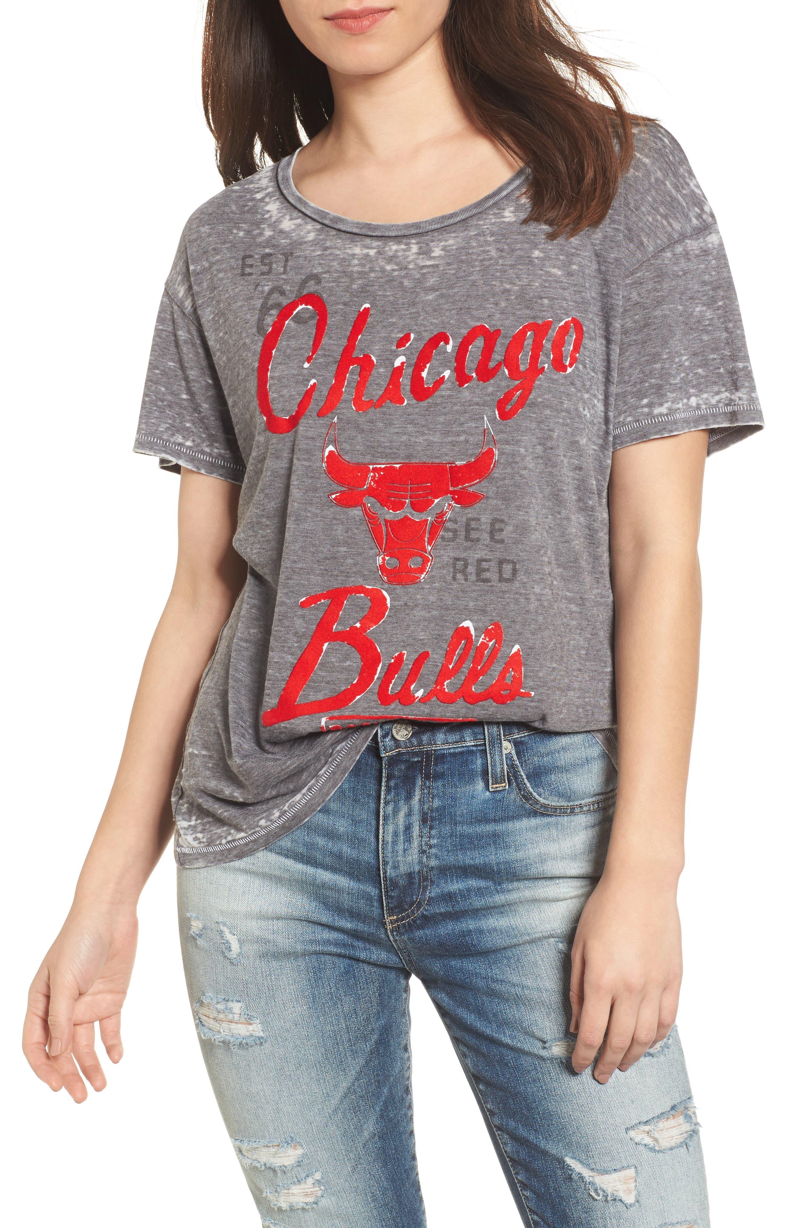 NBA Chicago Bulls Tee,                             Main thumbnail 1, color,                             004