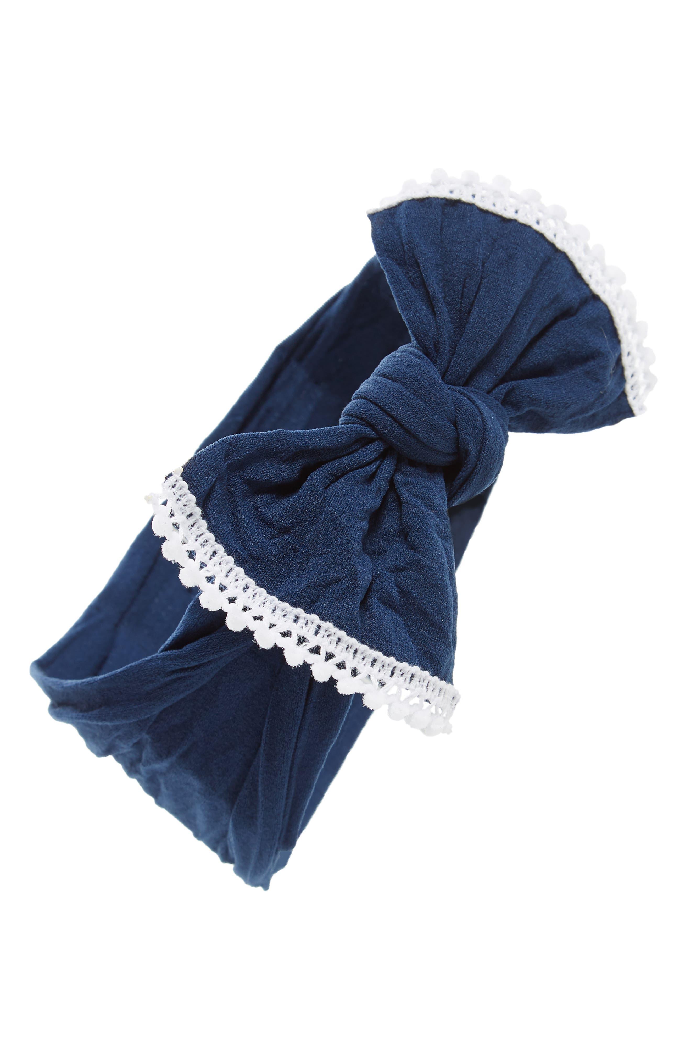 Mini Pompom Headband,                         Main,                         color, 414