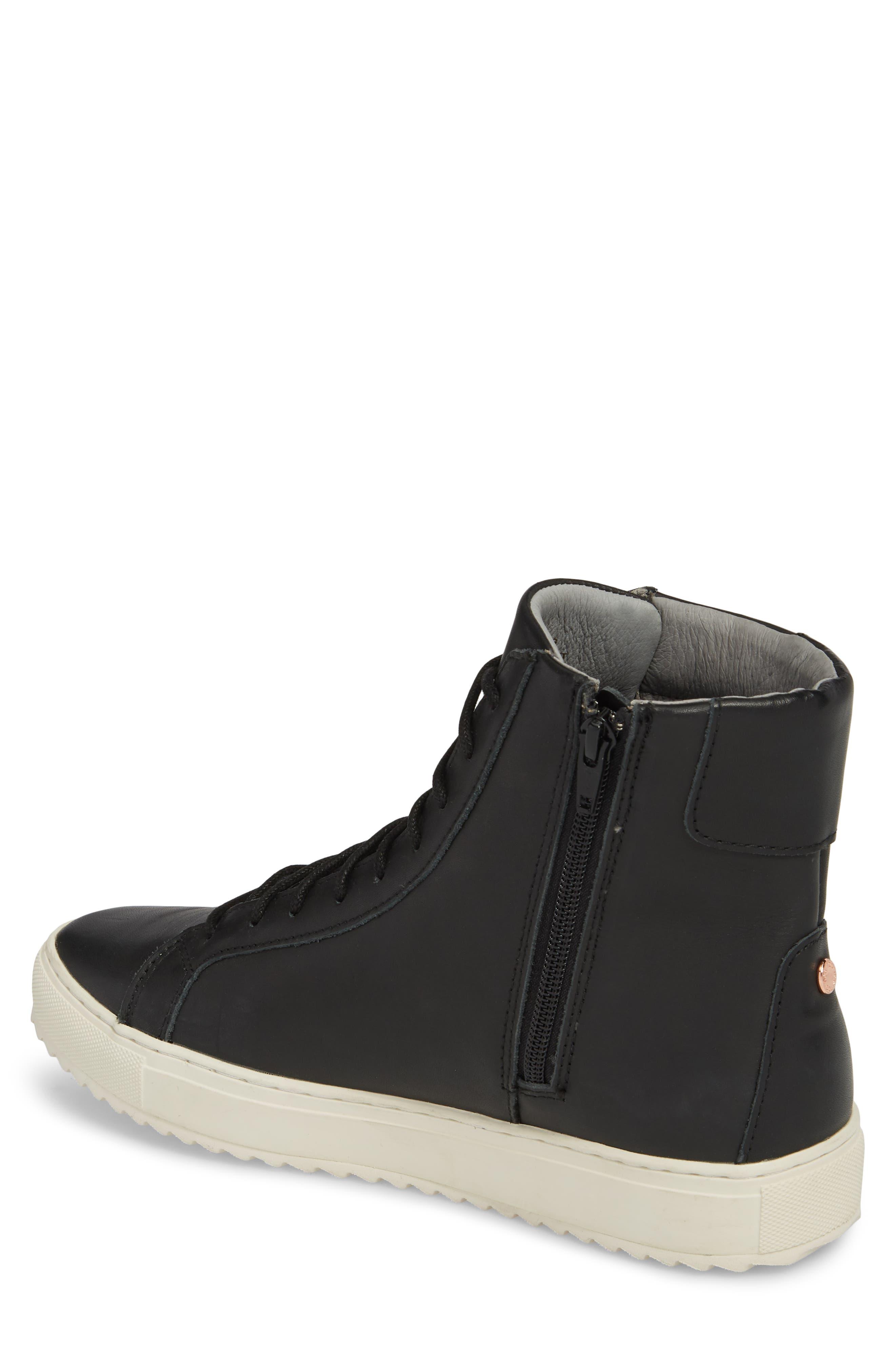 Logan Water Resistant High Top Sneaker,                             Alternate thumbnail 5, color,