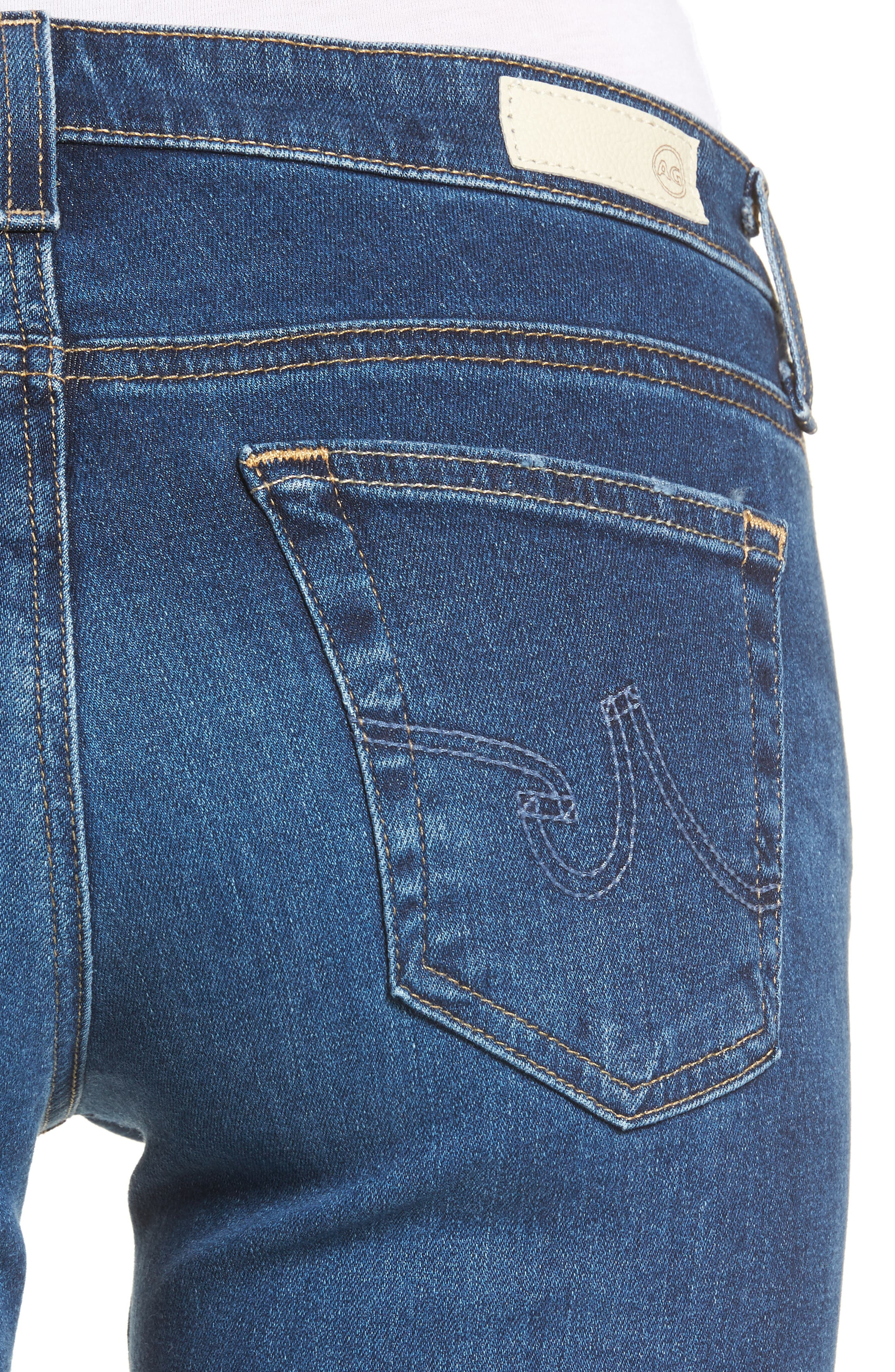The Stilt Cigarette Skinny Jeans,                             Alternate thumbnail 4, color,                             473