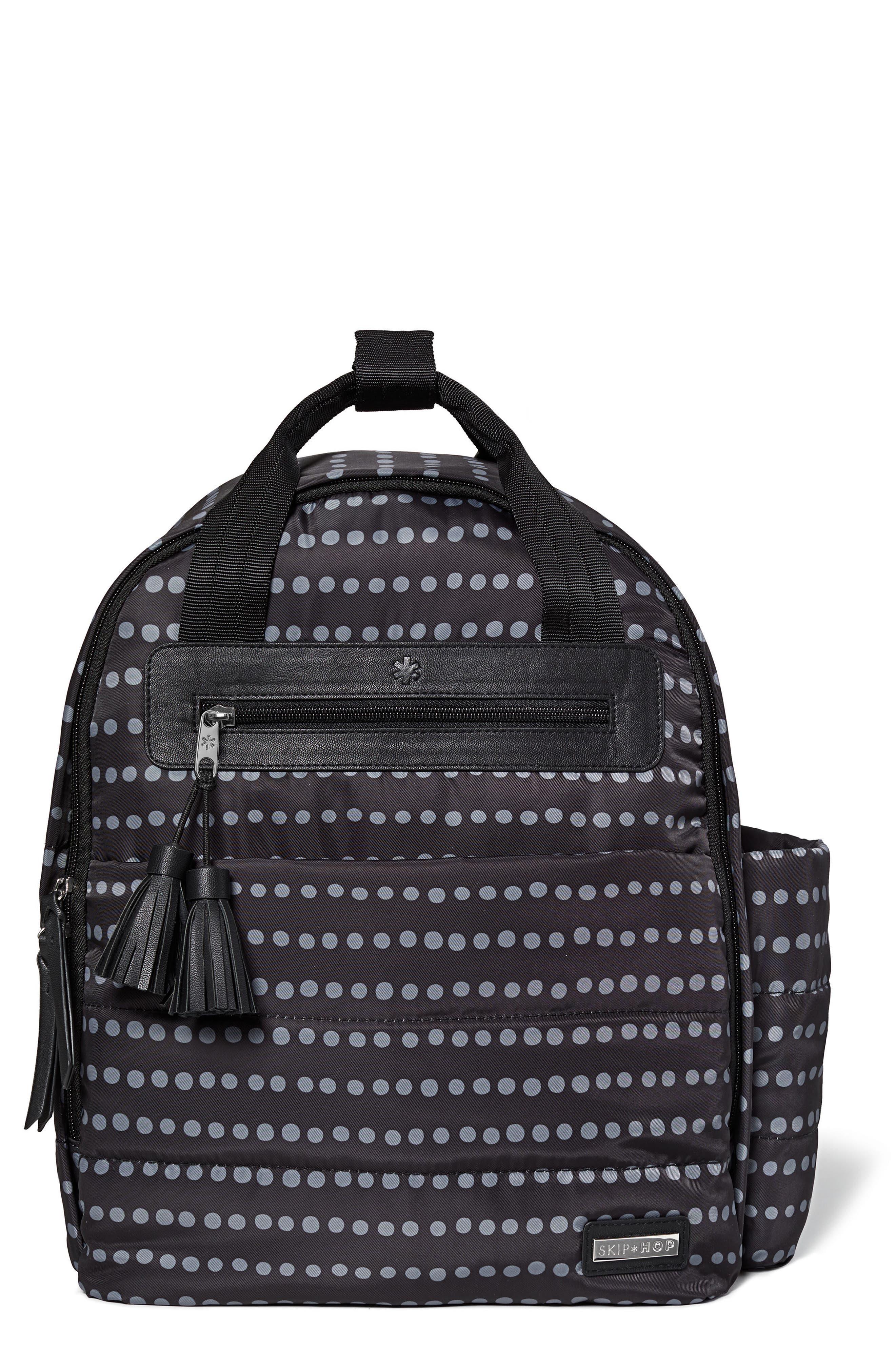 Infant Skip Hop Riverside Diaper Backpack  Black