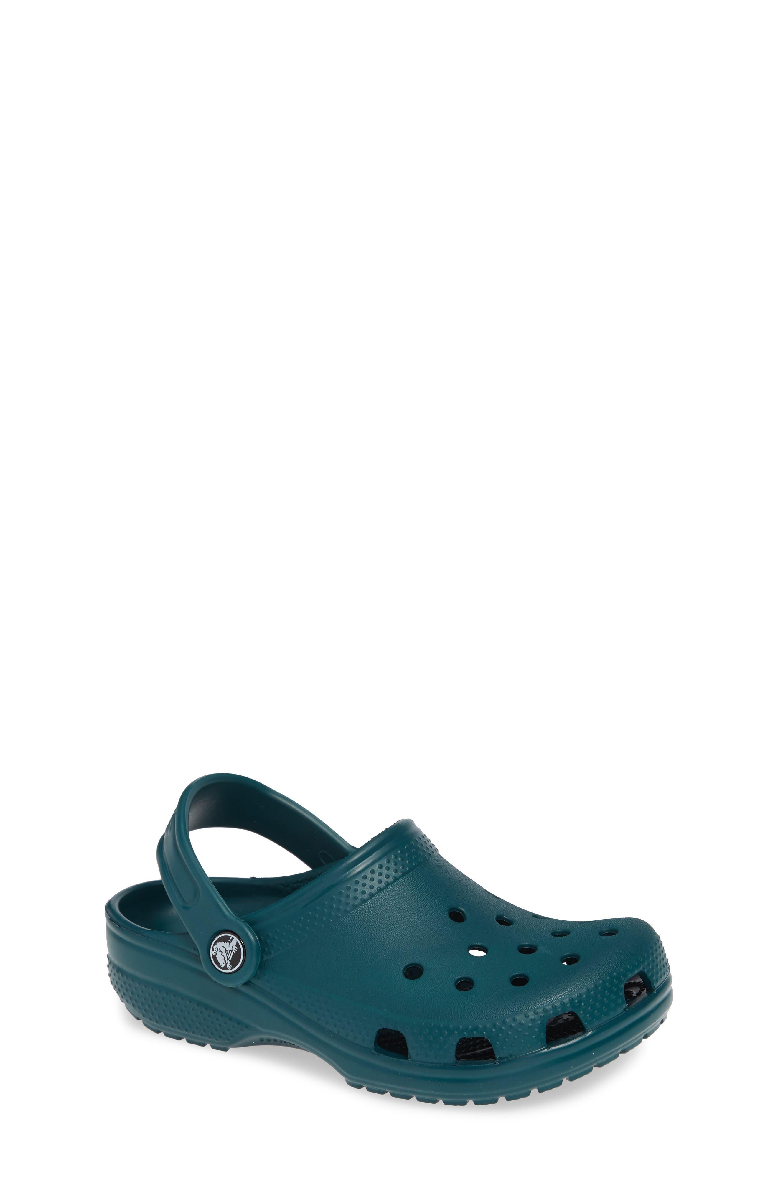 Classic Clog Sandal,                         Main,                         color, EVERGREEN