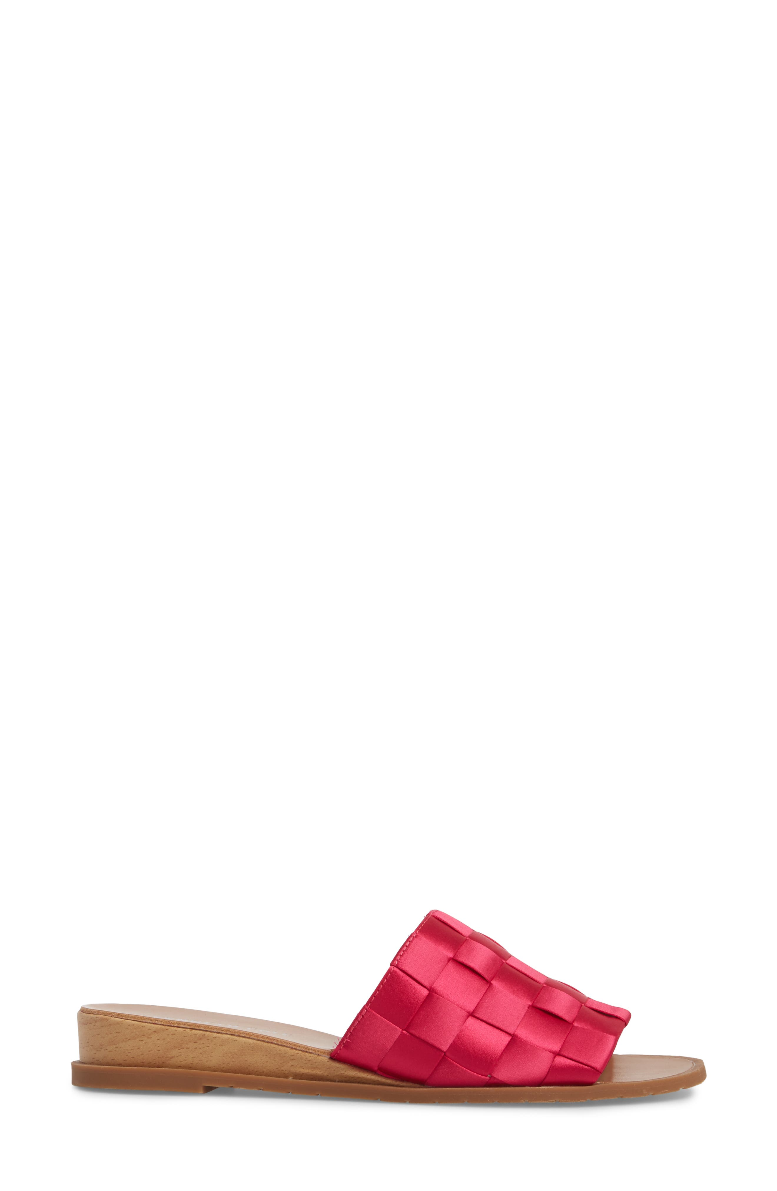 Joanne Flower Embroidered Slide Sandal,                             Alternate thumbnail 21, color,