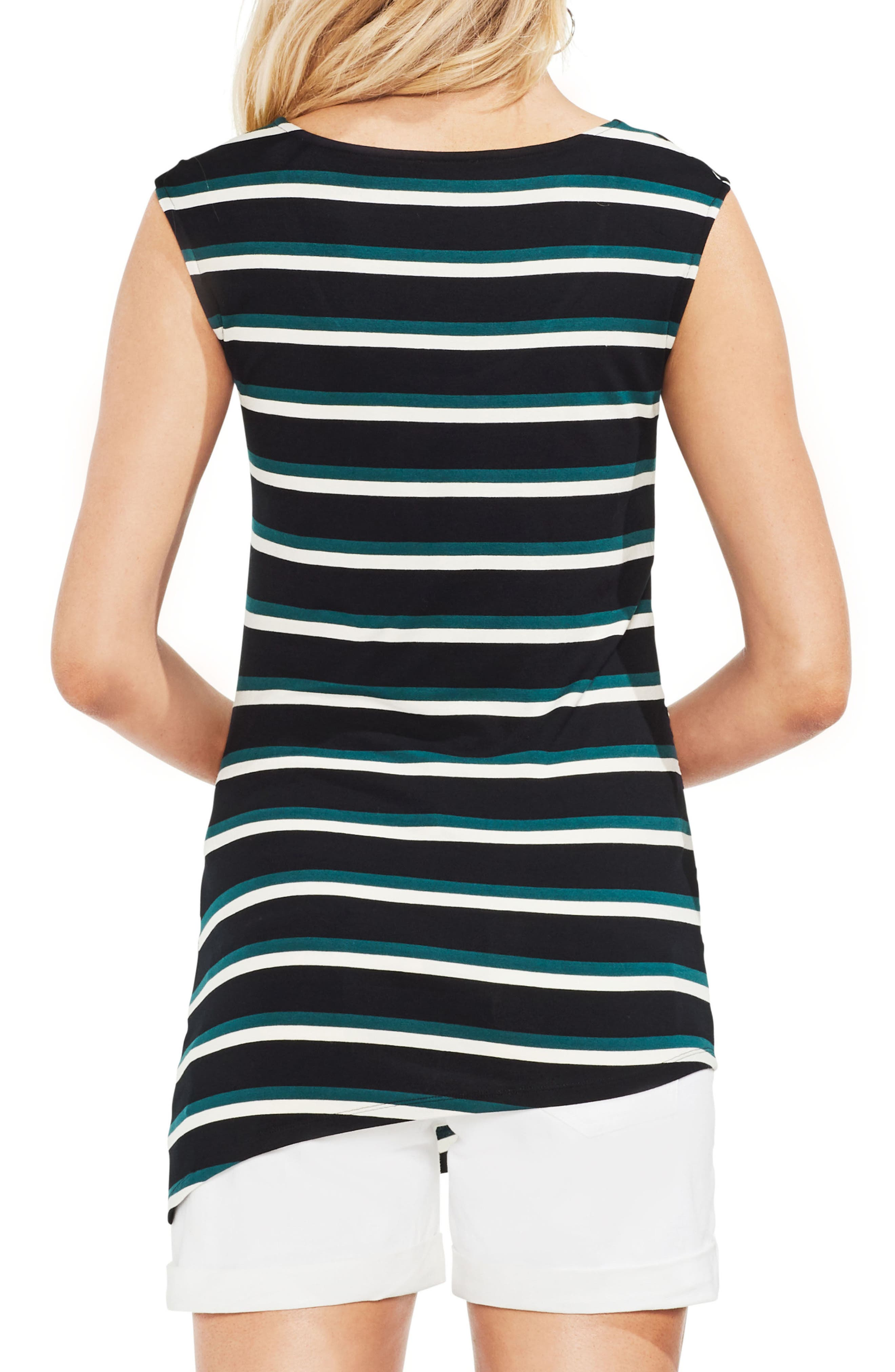 Ruched Stripe Tank Top,                             Alternate thumbnail 2, color,                             300