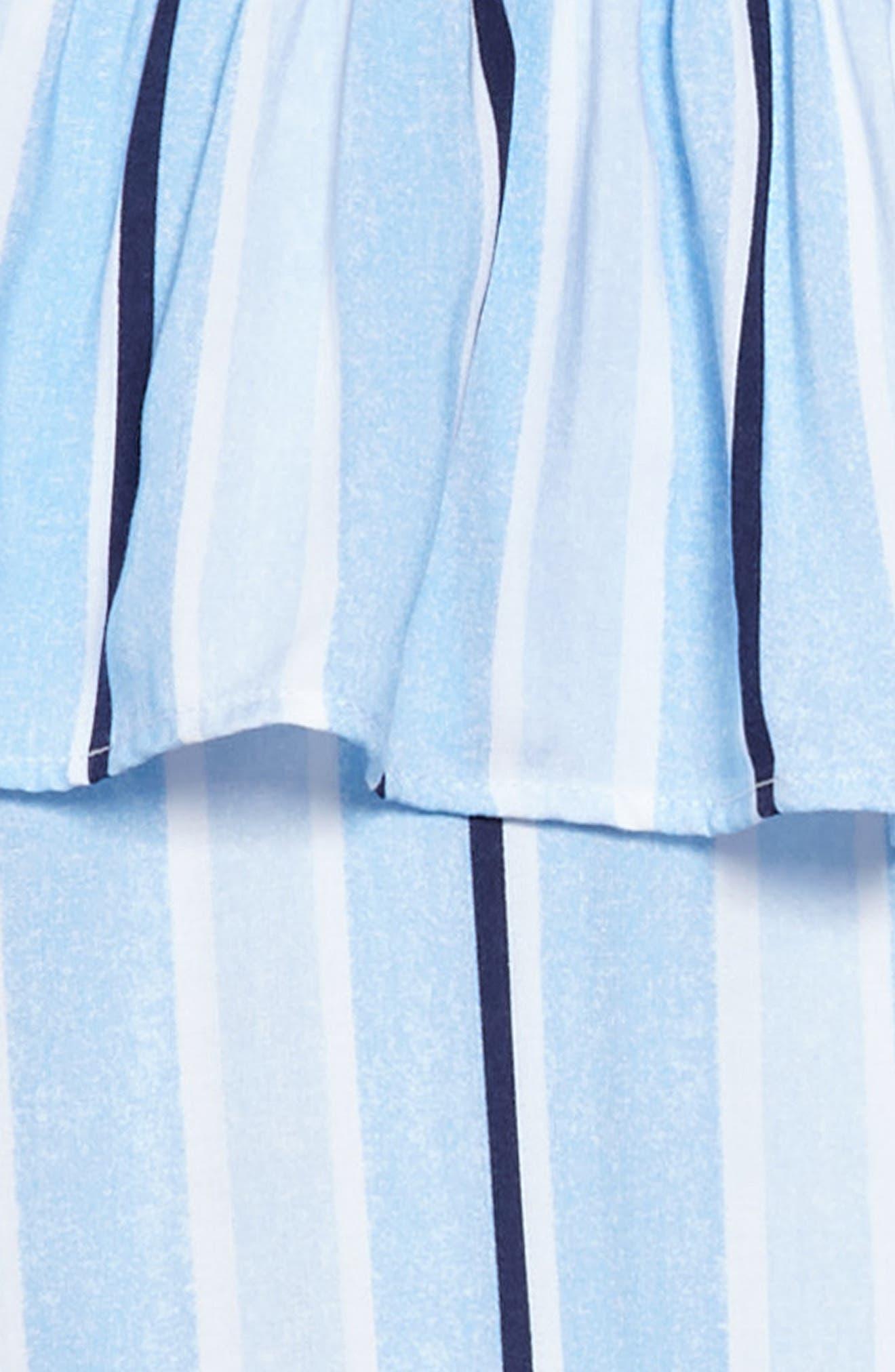 Cold Shoulder Knit Shirtdress,                             Alternate thumbnail 3, color,                             400