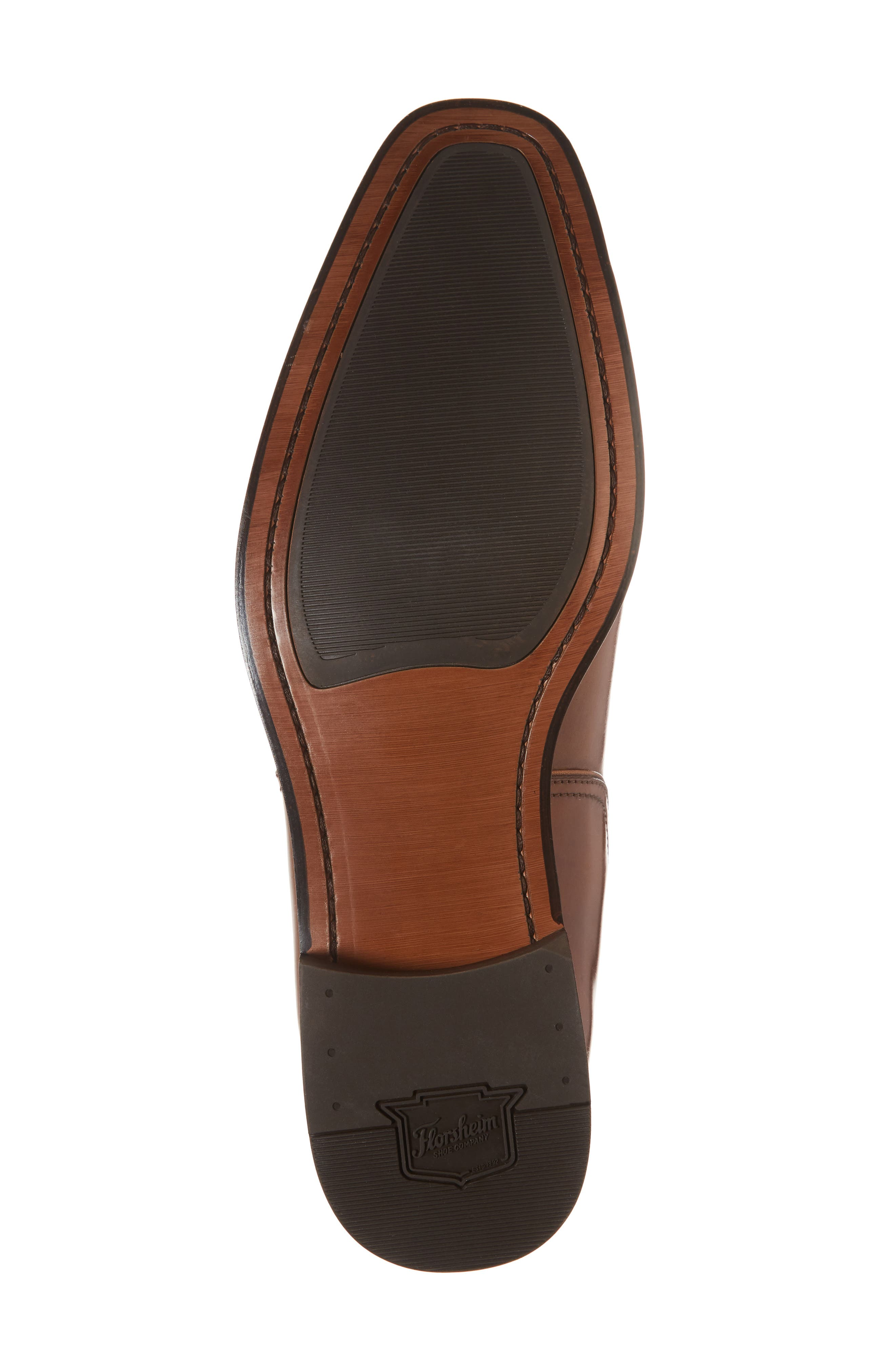 Belfast Chelsea Boot,                             Alternate thumbnail 6, color,                             COGNAC LEATHER