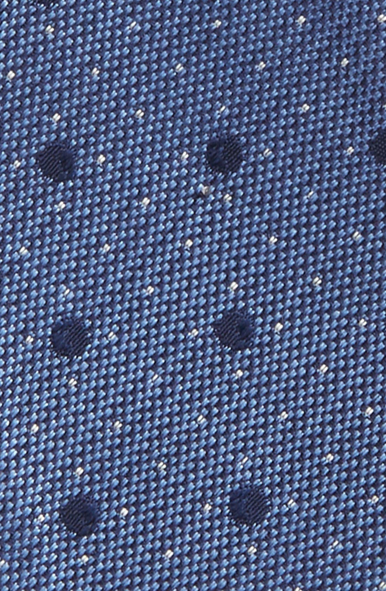 Dot Silk Bow Tie,                             Alternate thumbnail 6, color,