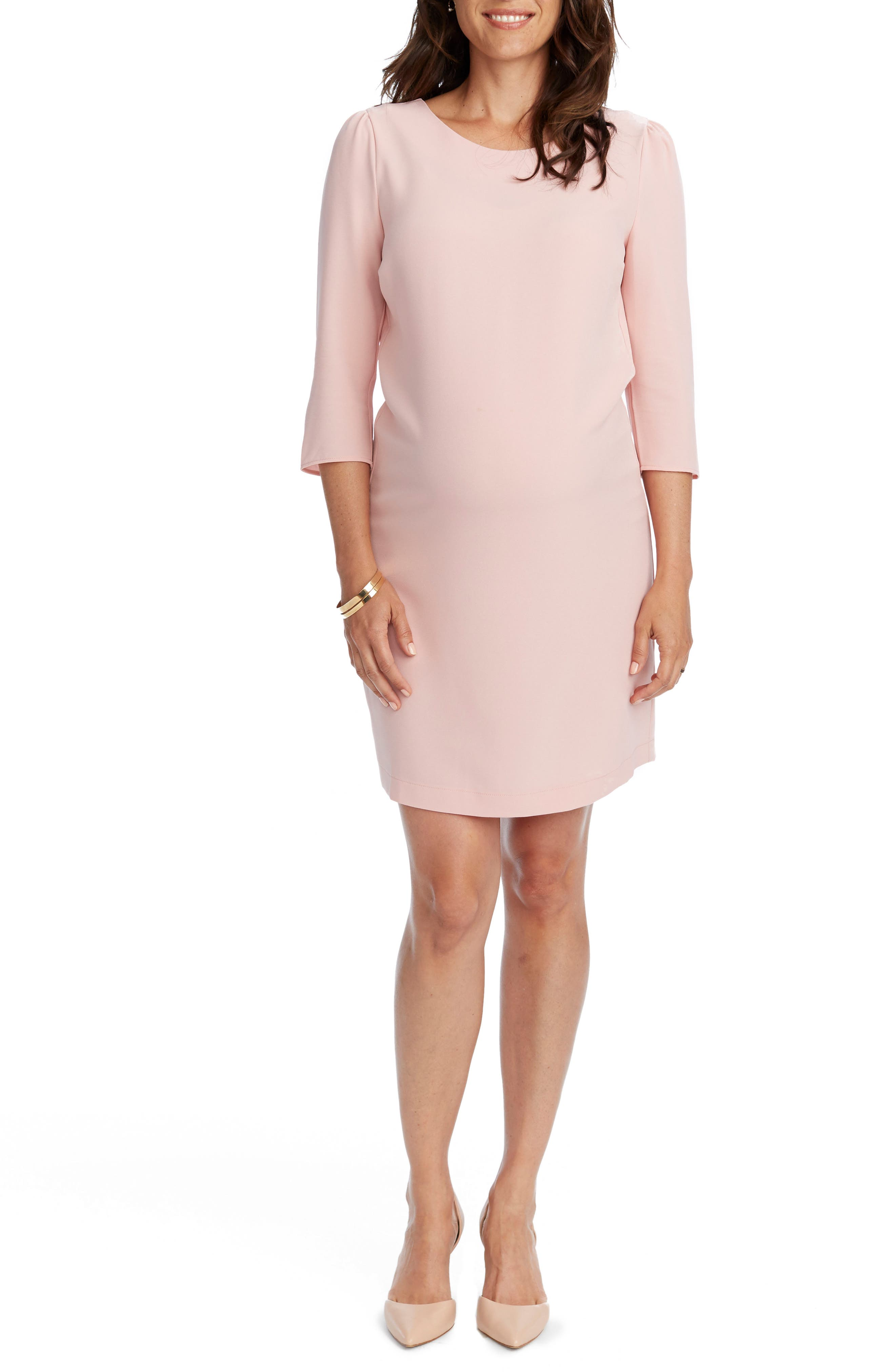 Cammie Maternity Shift Dress,                             Alternate thumbnail 3, color,                             680