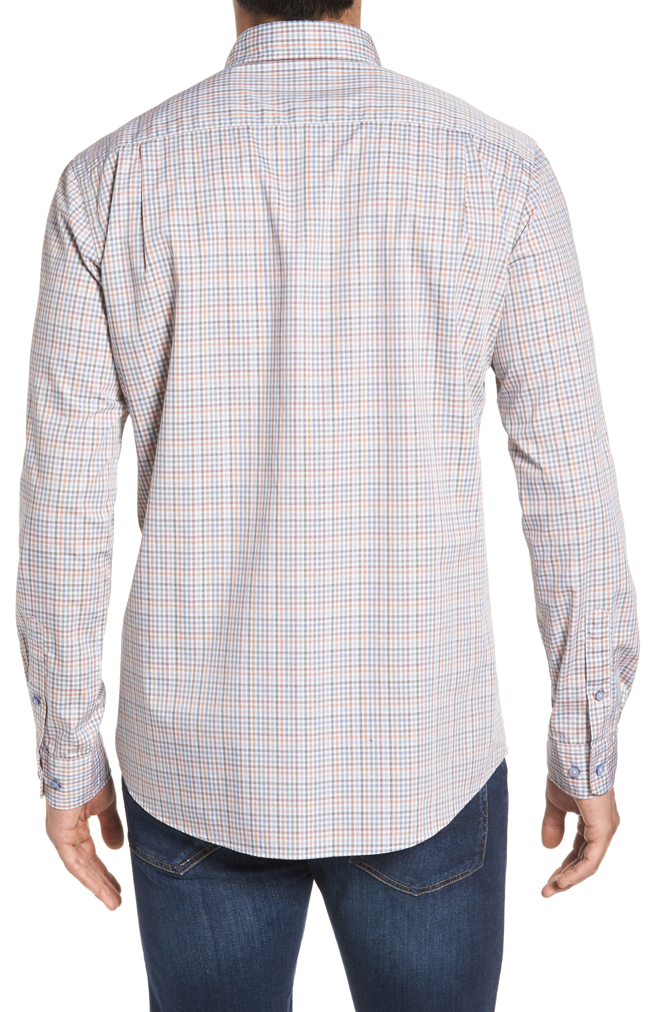 Woodlaw Original Fit Check Sport Shirt,                             Alternate thumbnail 3, color,