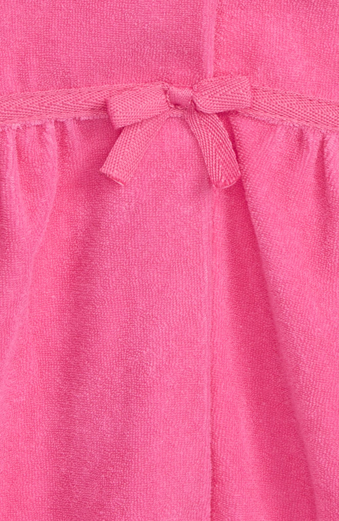 Hooded Cover-Up,                             Alternate thumbnail 2, color,                             FUCHSIA