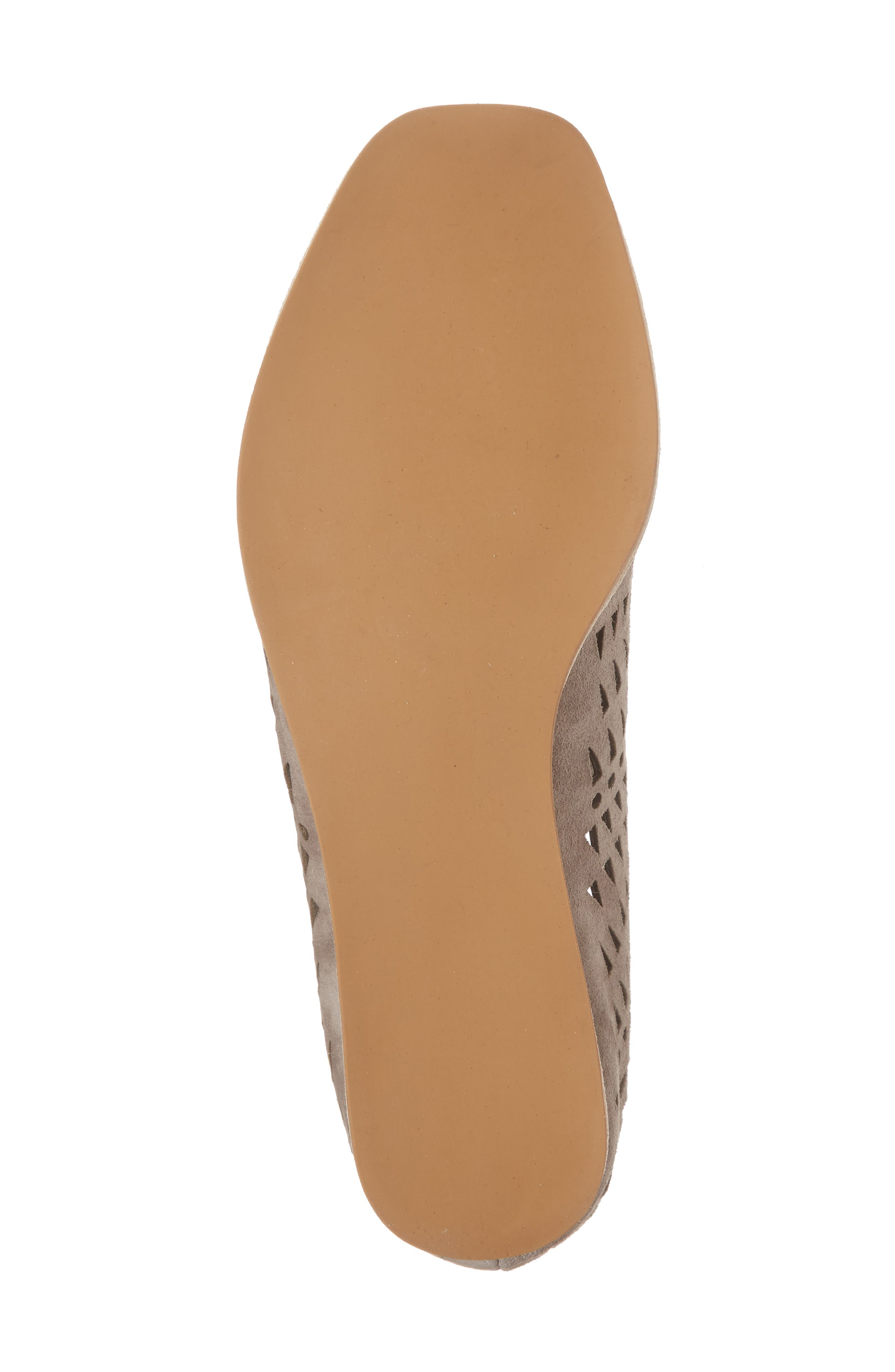 Espejo Lace-Up Wedge,                             Alternate thumbnail 6, color,                             TAUPE SUEDE