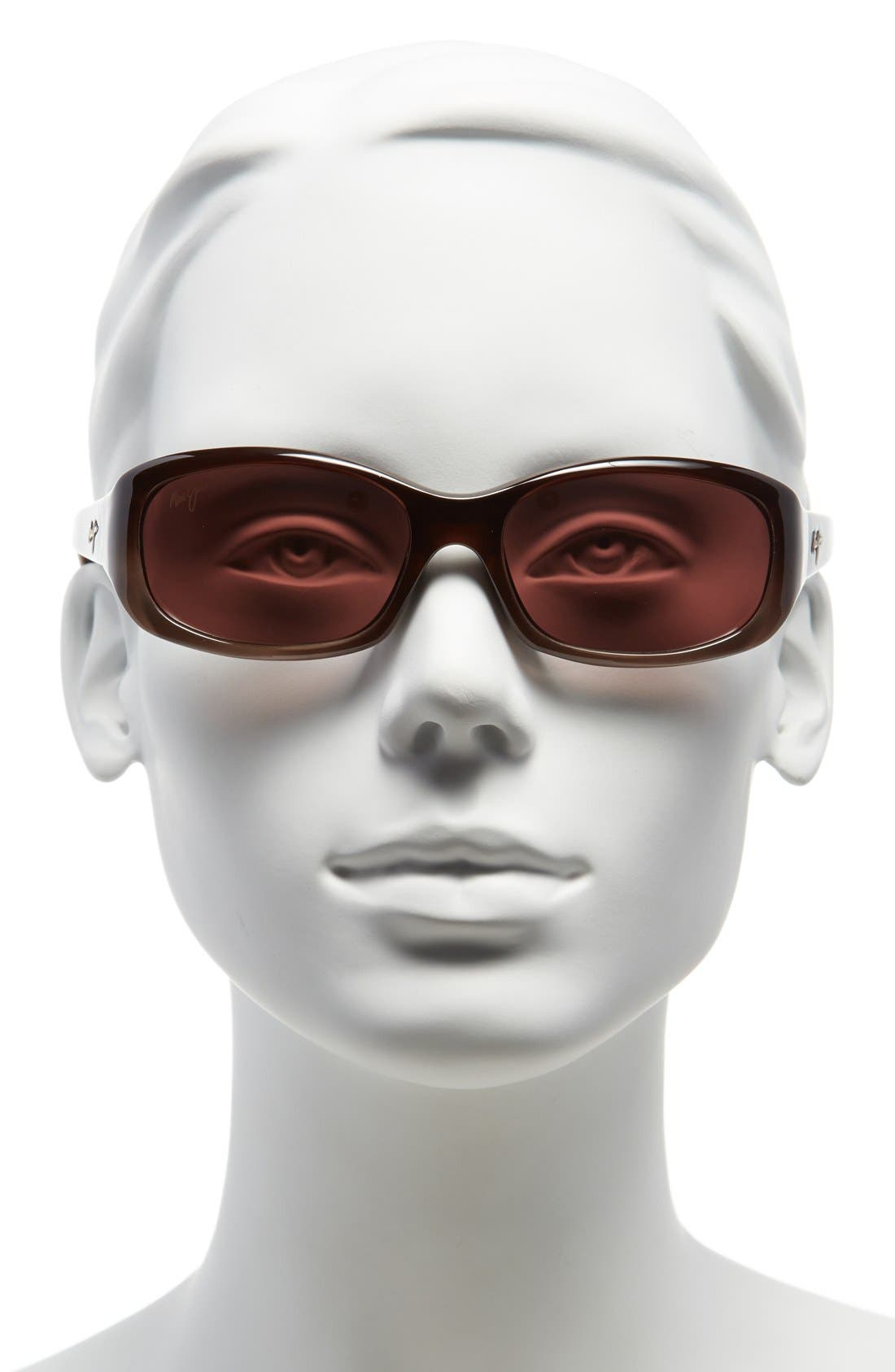Punchbowl 54mm PolarizedPlus<sup>®</sup> Sunglasses,                             Alternate thumbnail 2, color,                             CHOCOLATE FADE