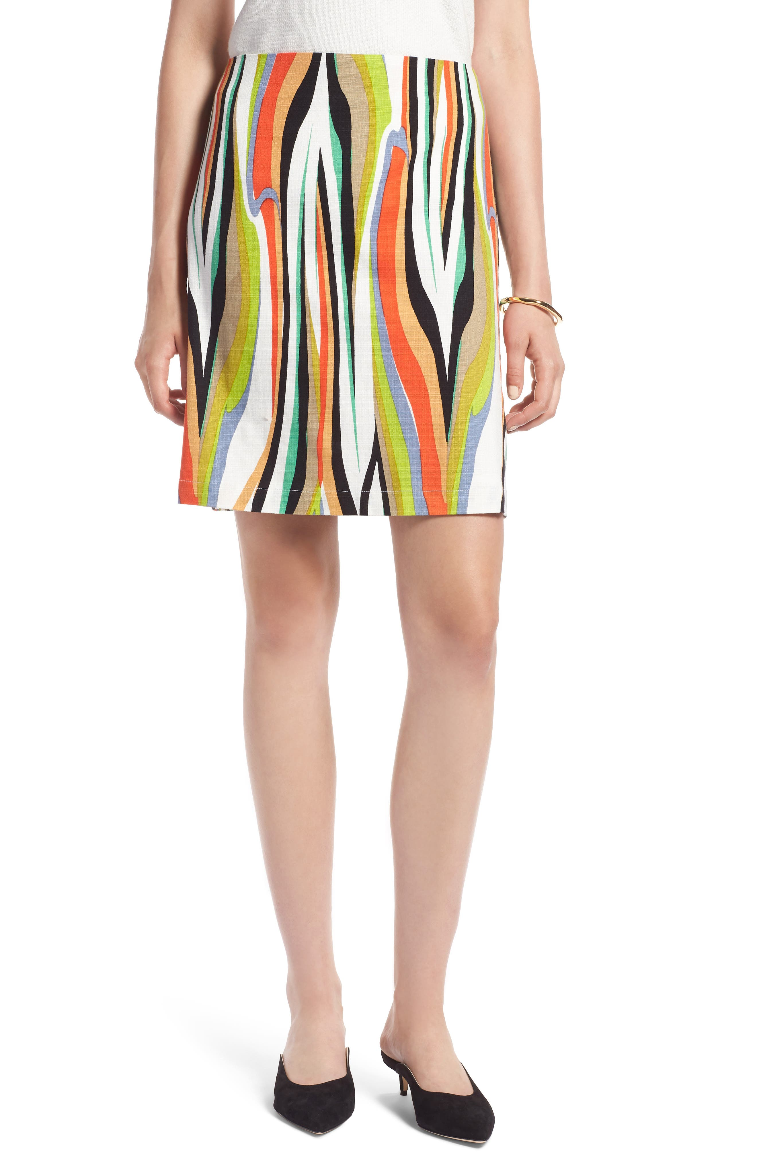 Stripe Skirt,                             Main thumbnail 1, color,                             900