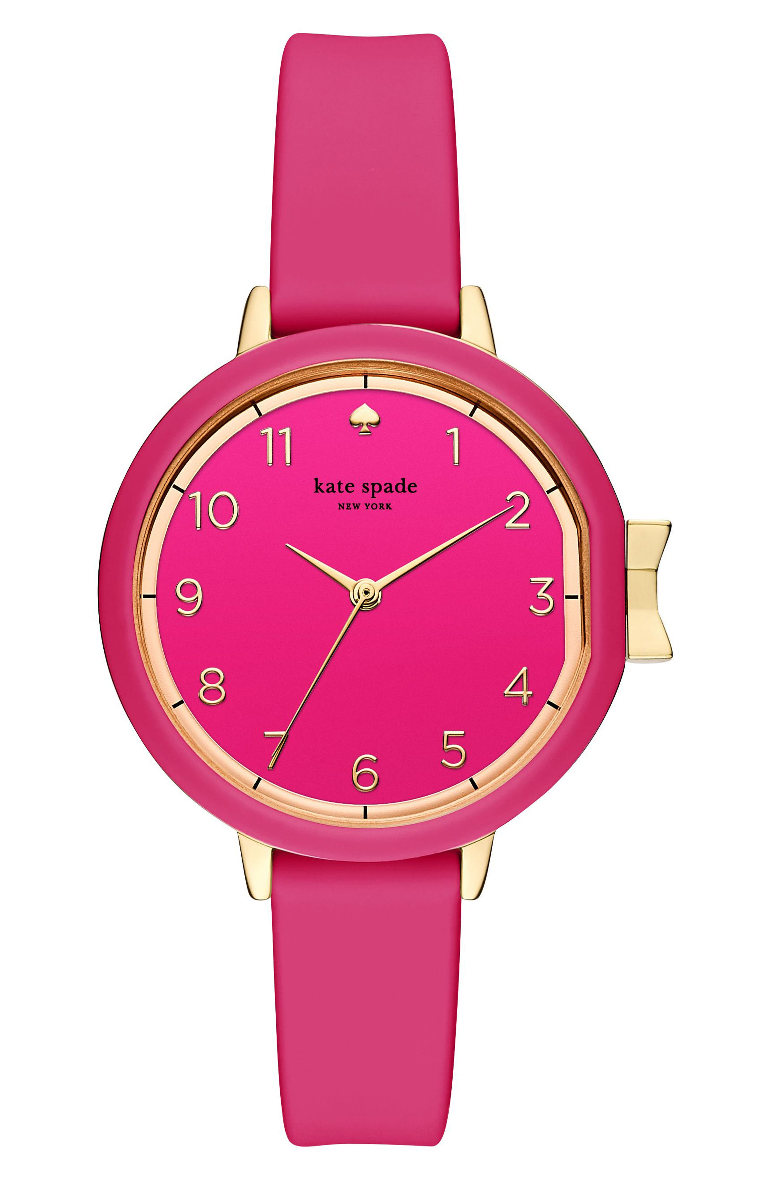 park row silicone strap watch, 34mm,                             Main thumbnail 12, color,