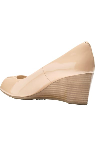 d2417781f10 Cole Haan Sadie Open Toe Wedge Pump (Women)