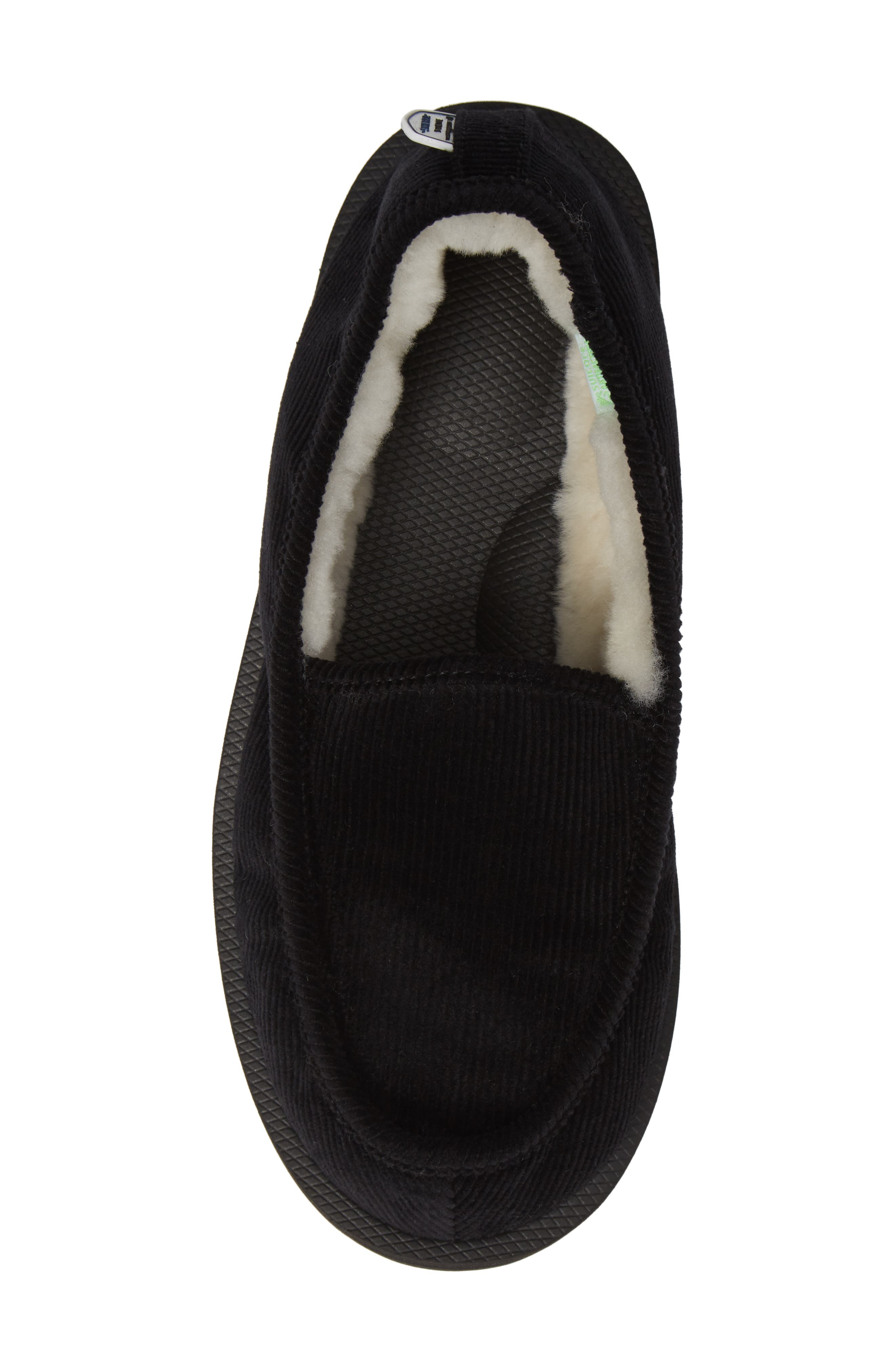 Genuine Shearling Slipper,                             Alternate thumbnail 5, color,                             001