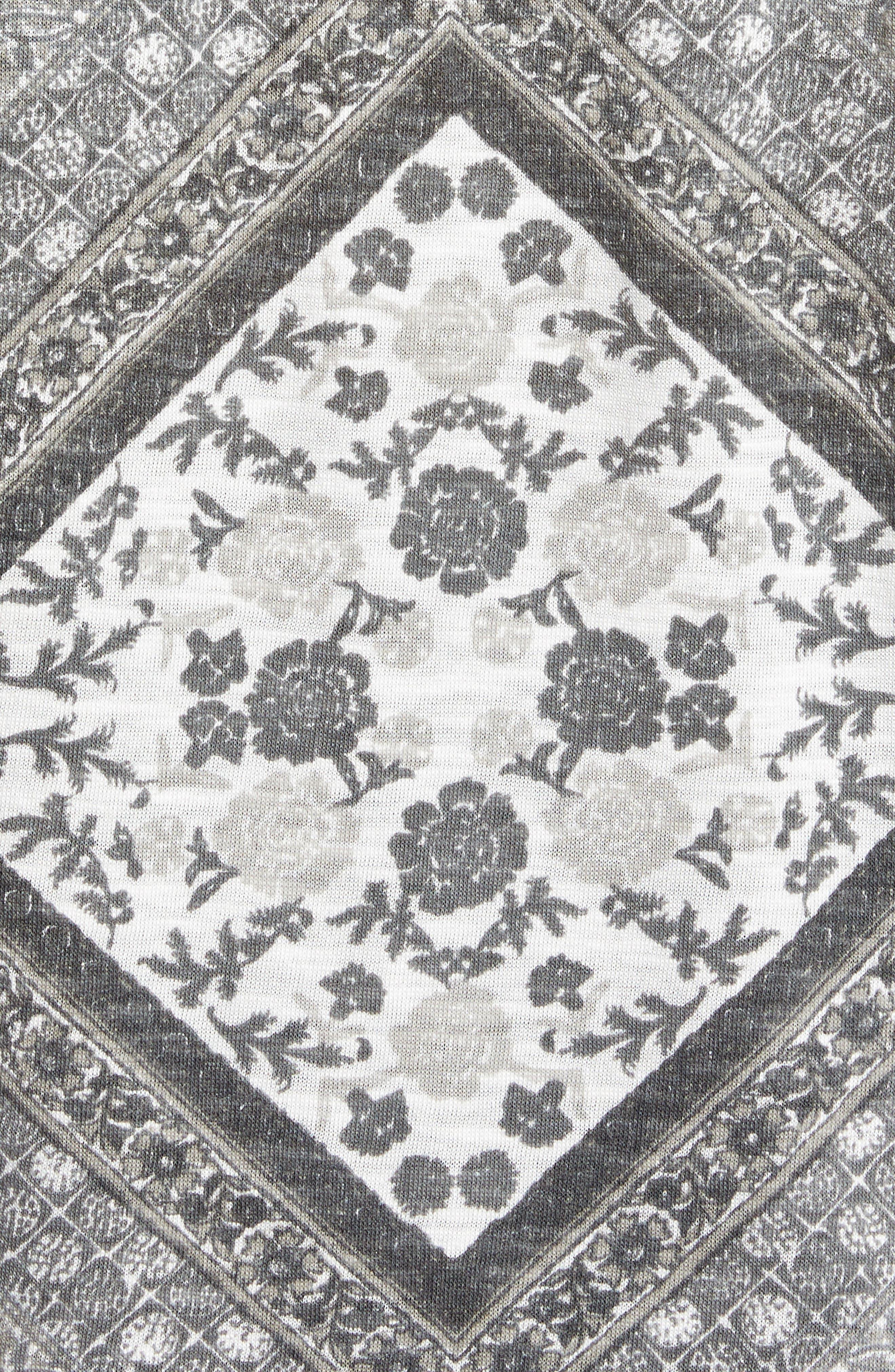 Tapestry Blouse,                             Alternate thumbnail 5, color,                             020