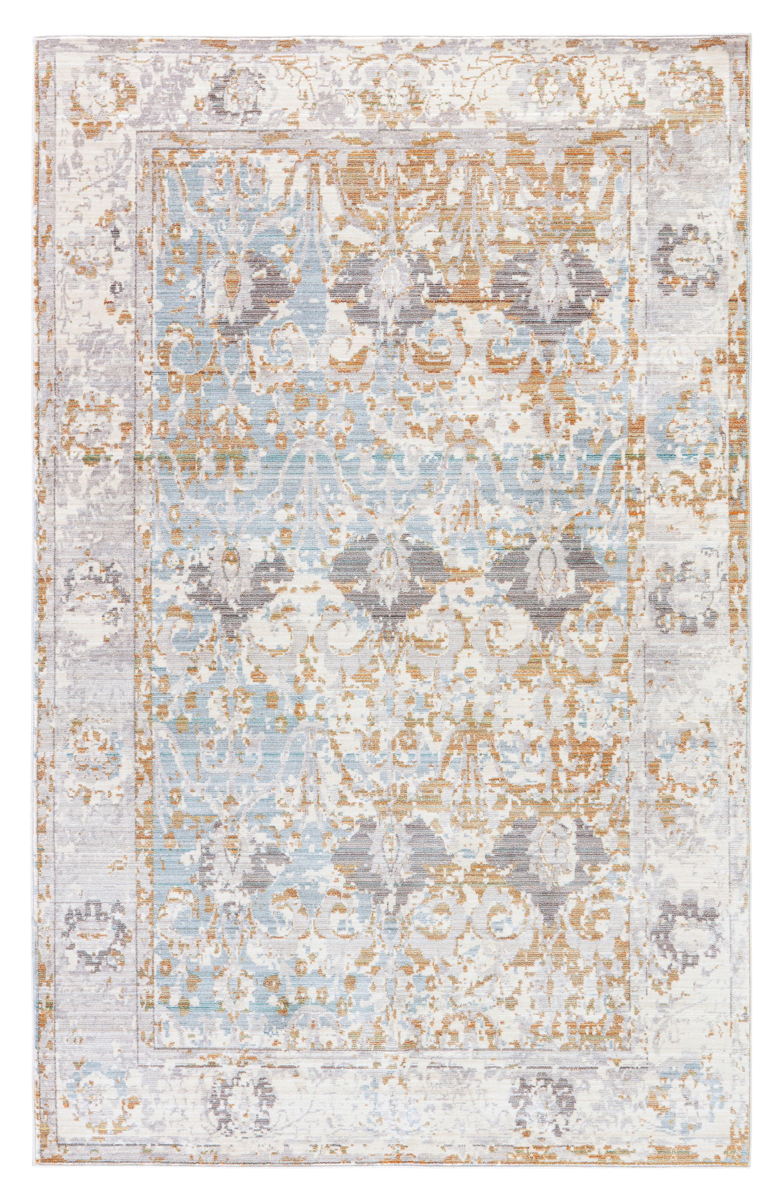Antique Collector Rug,                             Main thumbnail 1, color,                             GREY/ SILVER