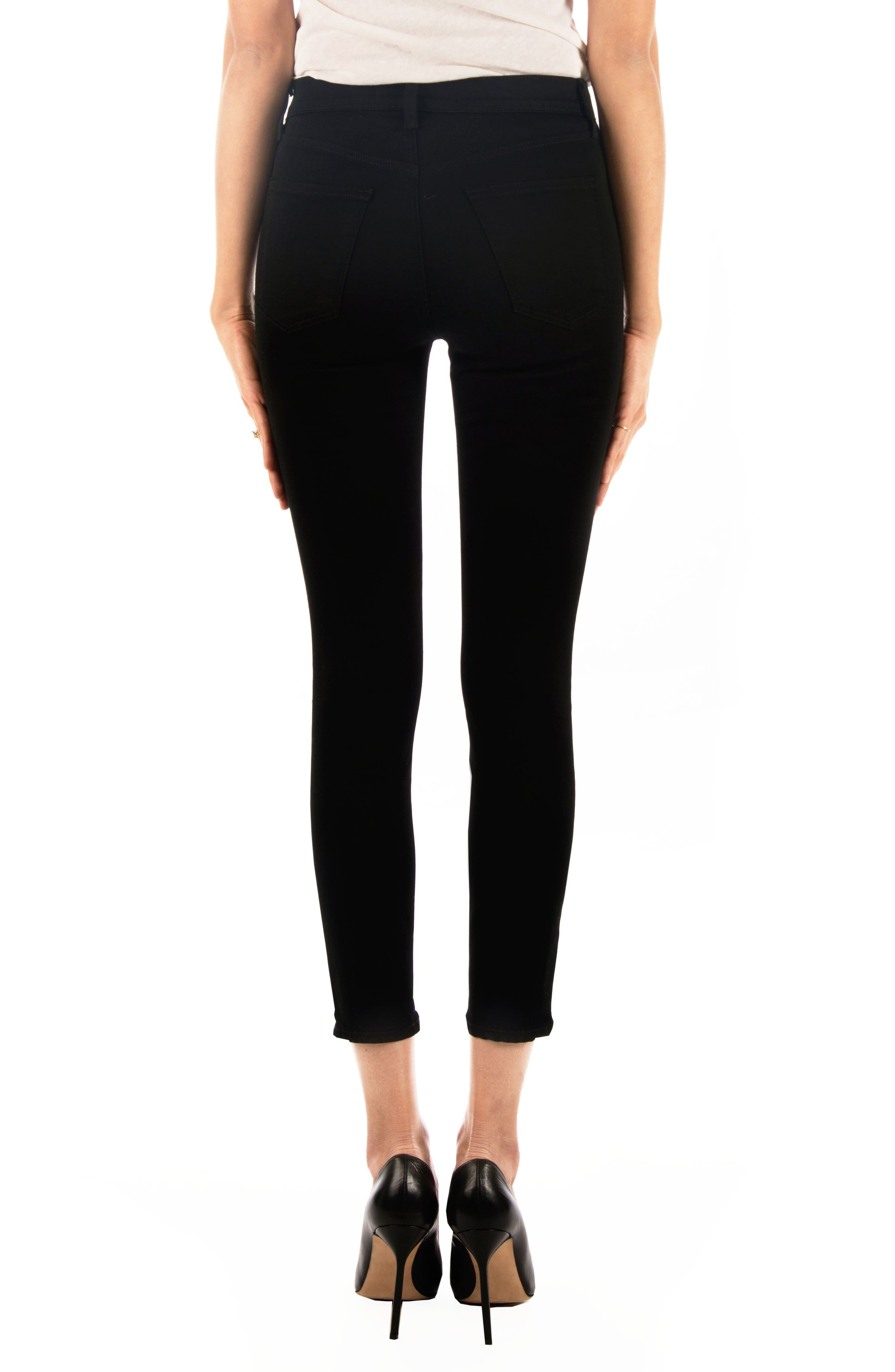 Alana High Waist Crop Skinny Jeans,                             Alternate thumbnail 2, color,                             009