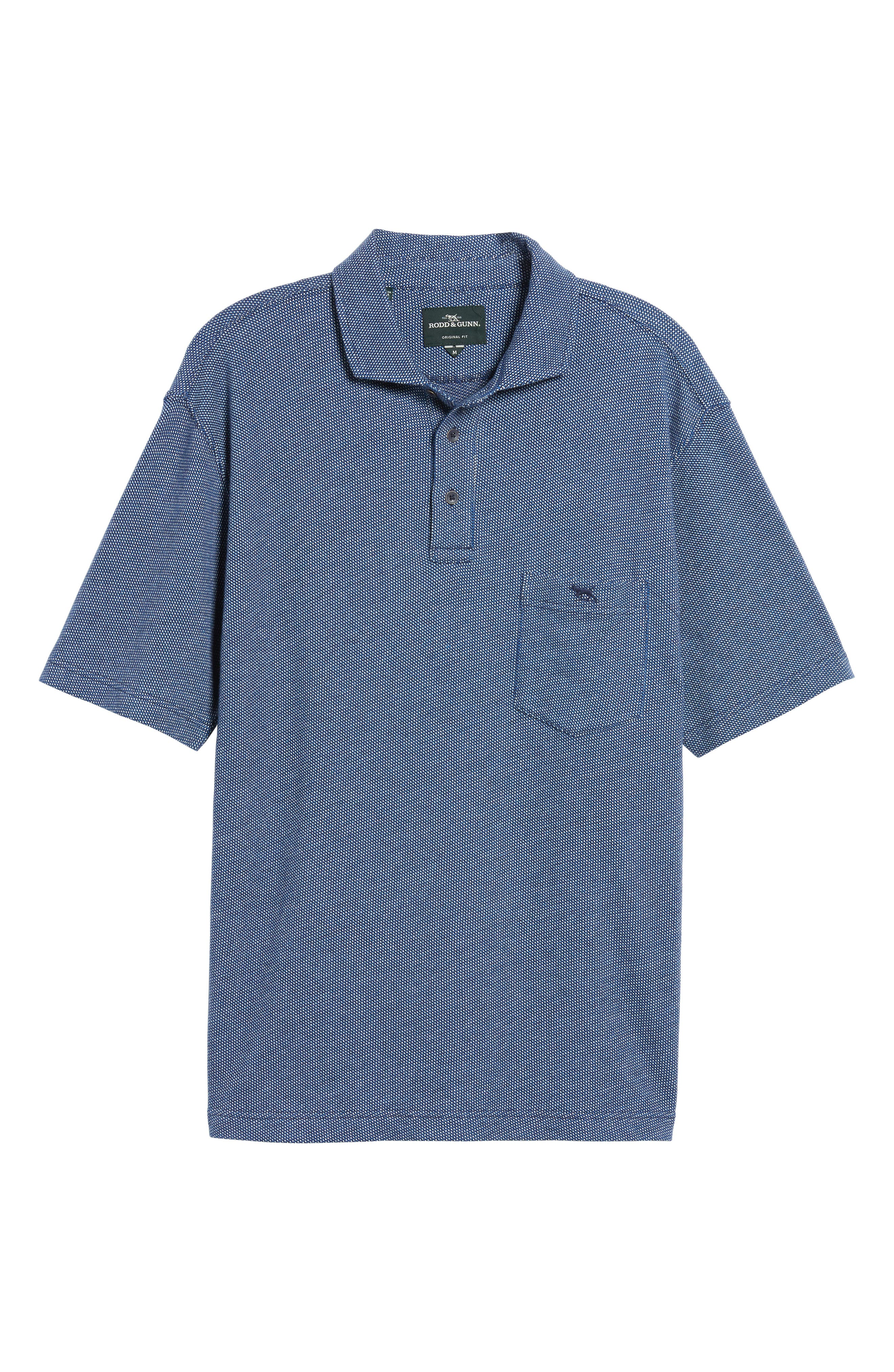 Springs Flat Regular Fit Polo,                             Alternate thumbnail 6, color,                             433