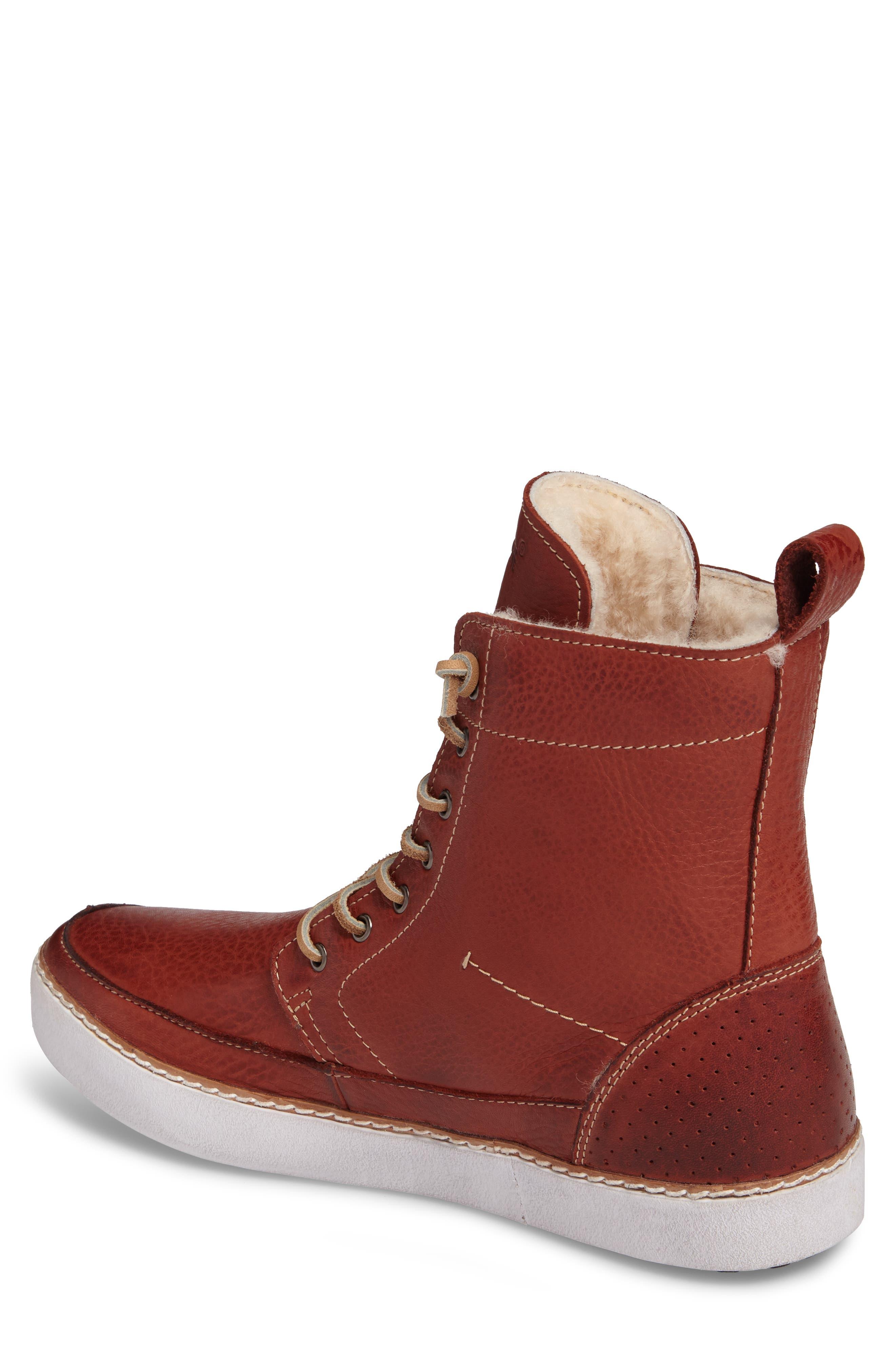 BLACKSTONE,                             'AM 32' Shearling Lined Boot,                             Alternate thumbnail 2, color,                             200