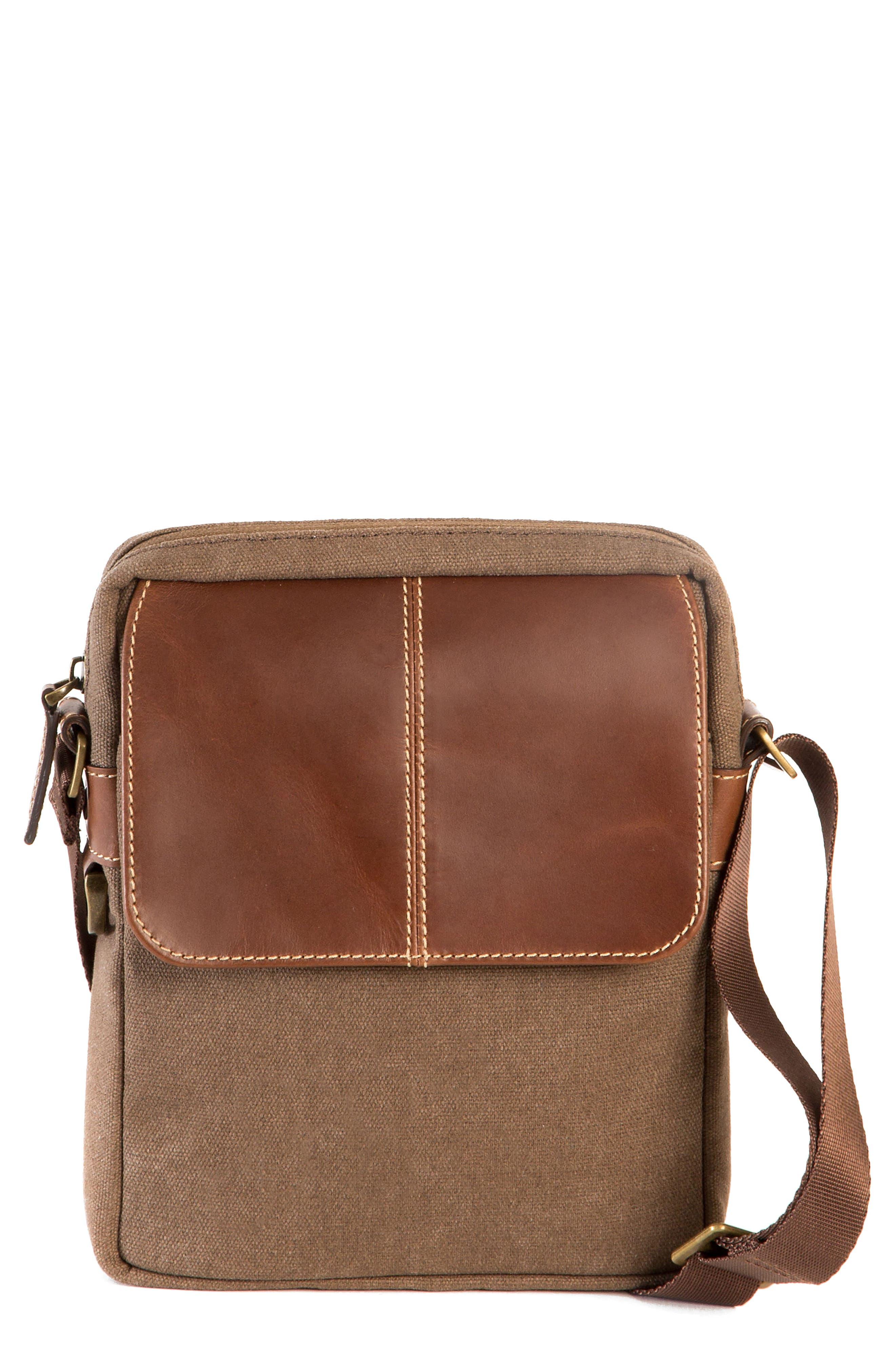 Bryant Crossbody Bag,                         Main,                         color, MAHOGANY AND HEATHER