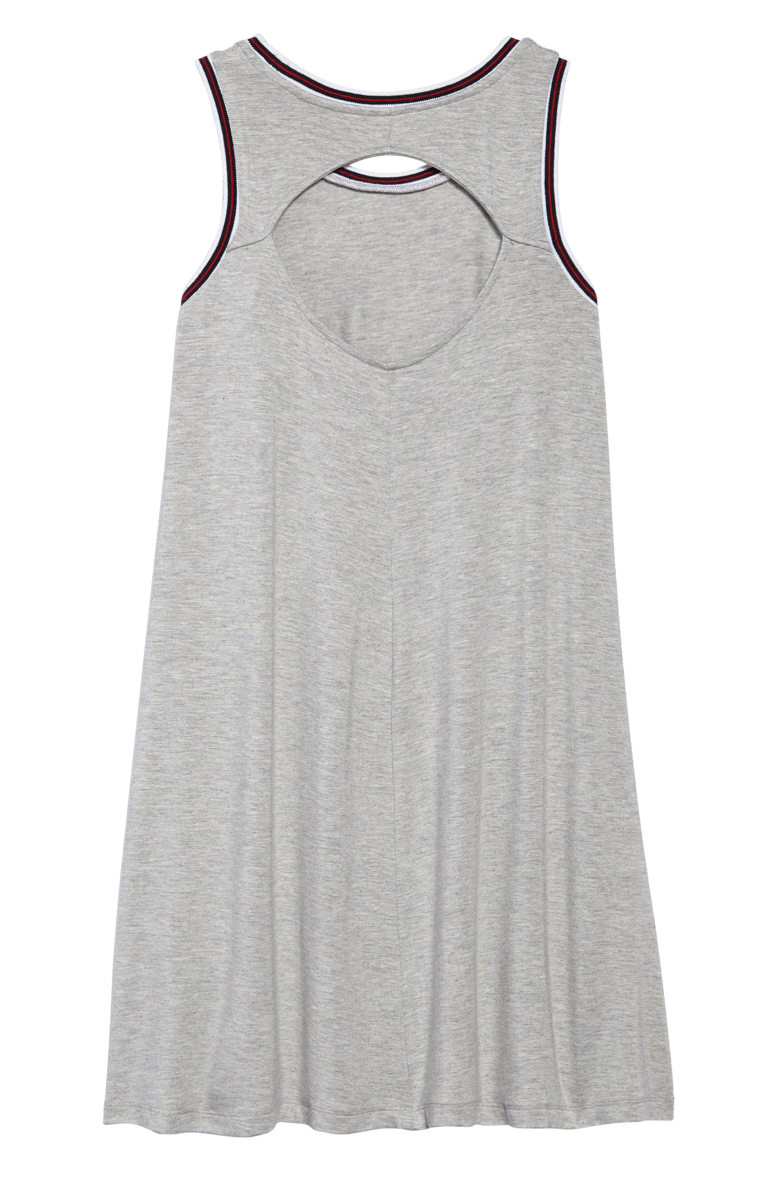 Athleisure Sleeveless Dress,                             Alternate thumbnail 2, color,                             020