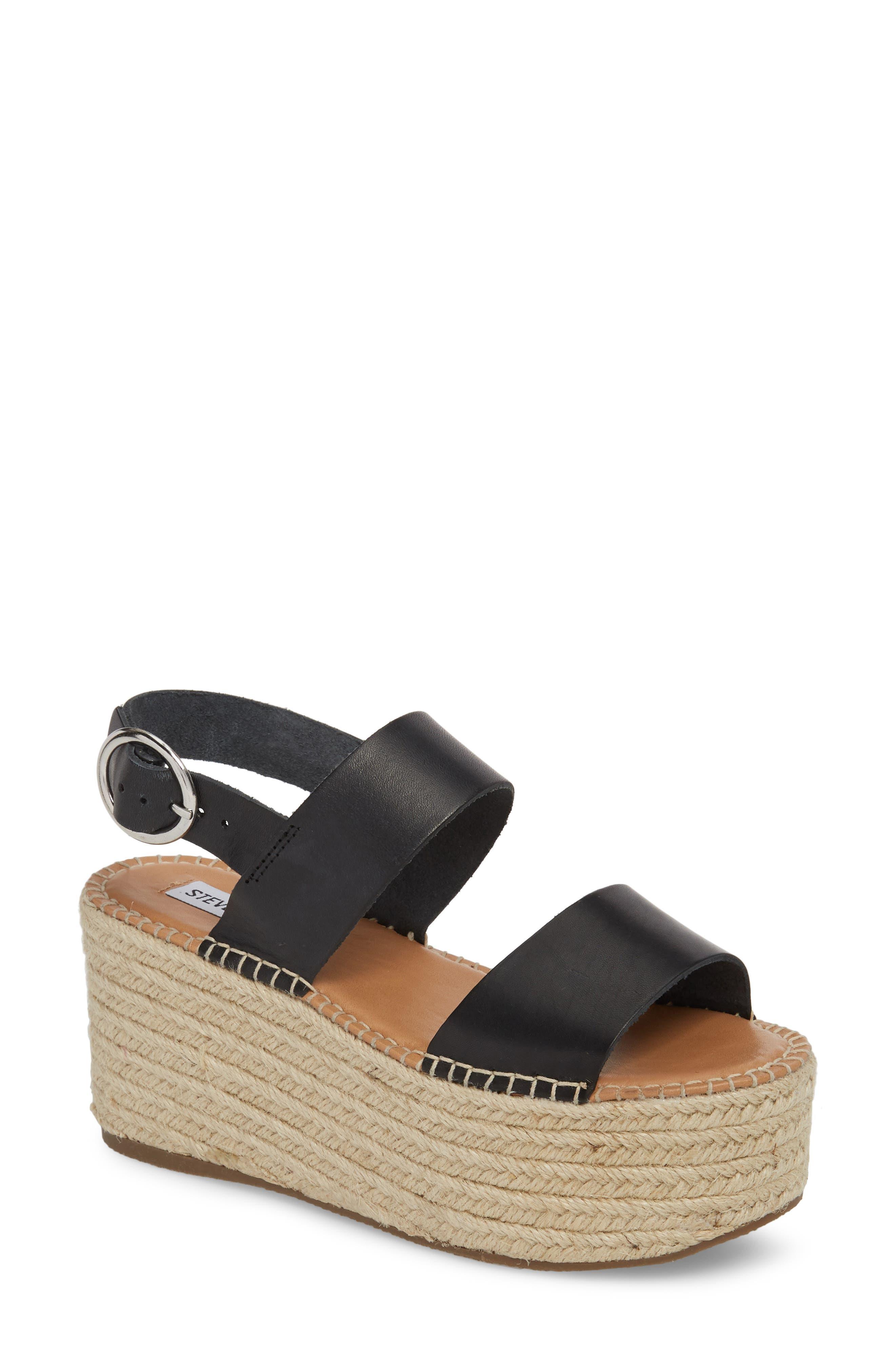 Cali Espadrille Platform Sandal,                         Main,                         color,