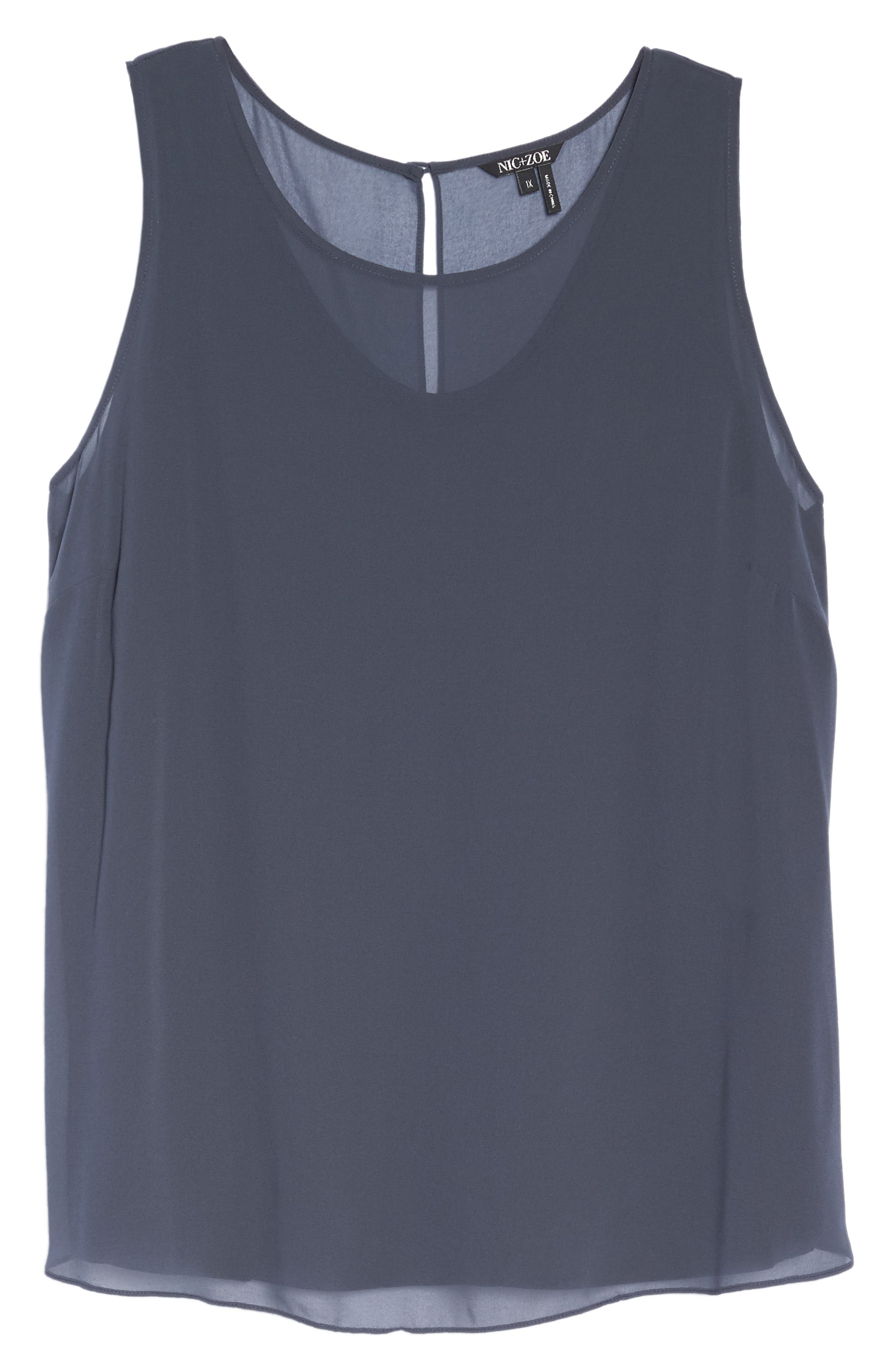 Sheer Collection Top,                             Alternate thumbnail 6, color,                             020