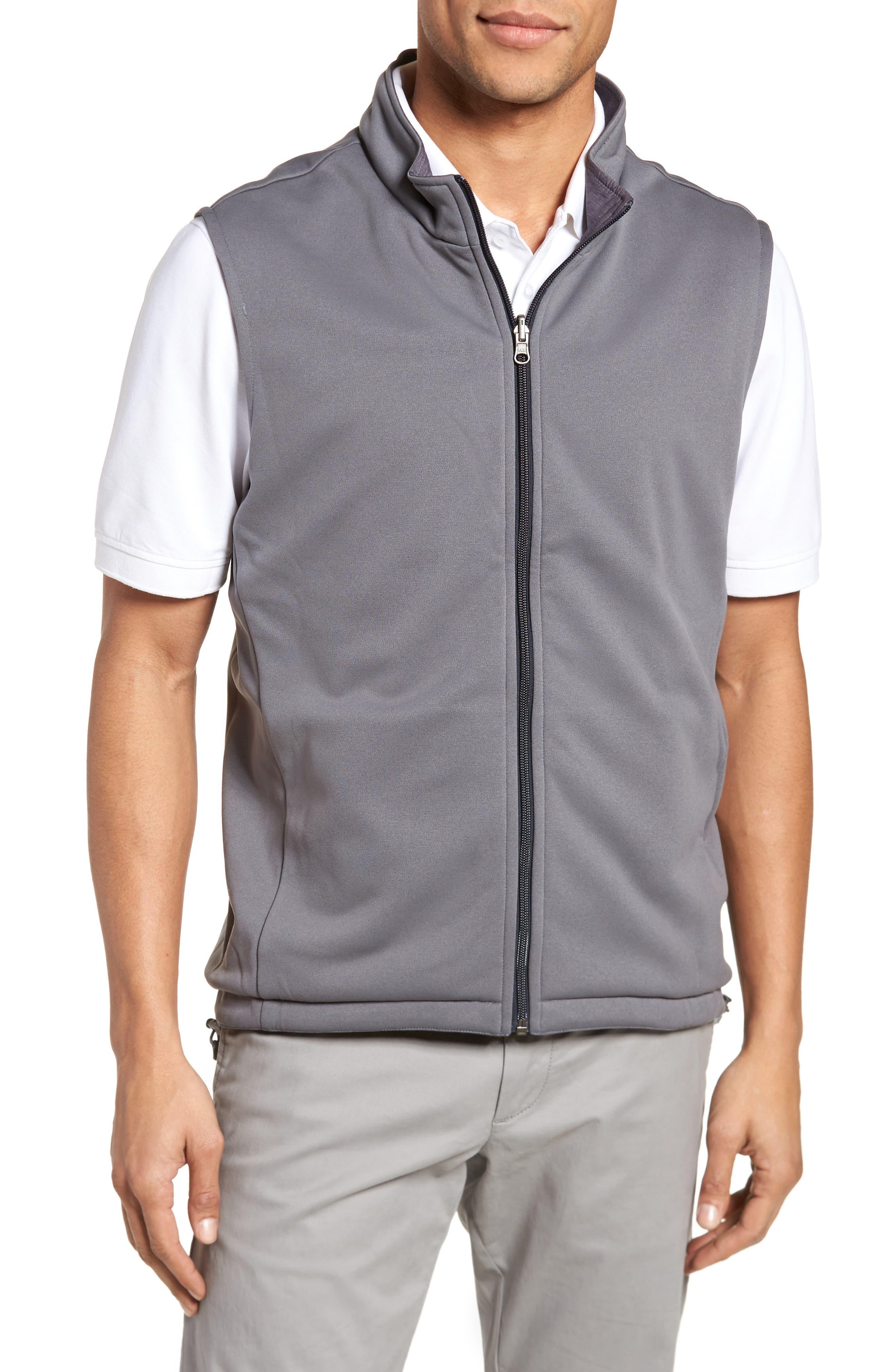 Carthage Reversible Vest,                             Alternate thumbnail 2, color,                             BLACK