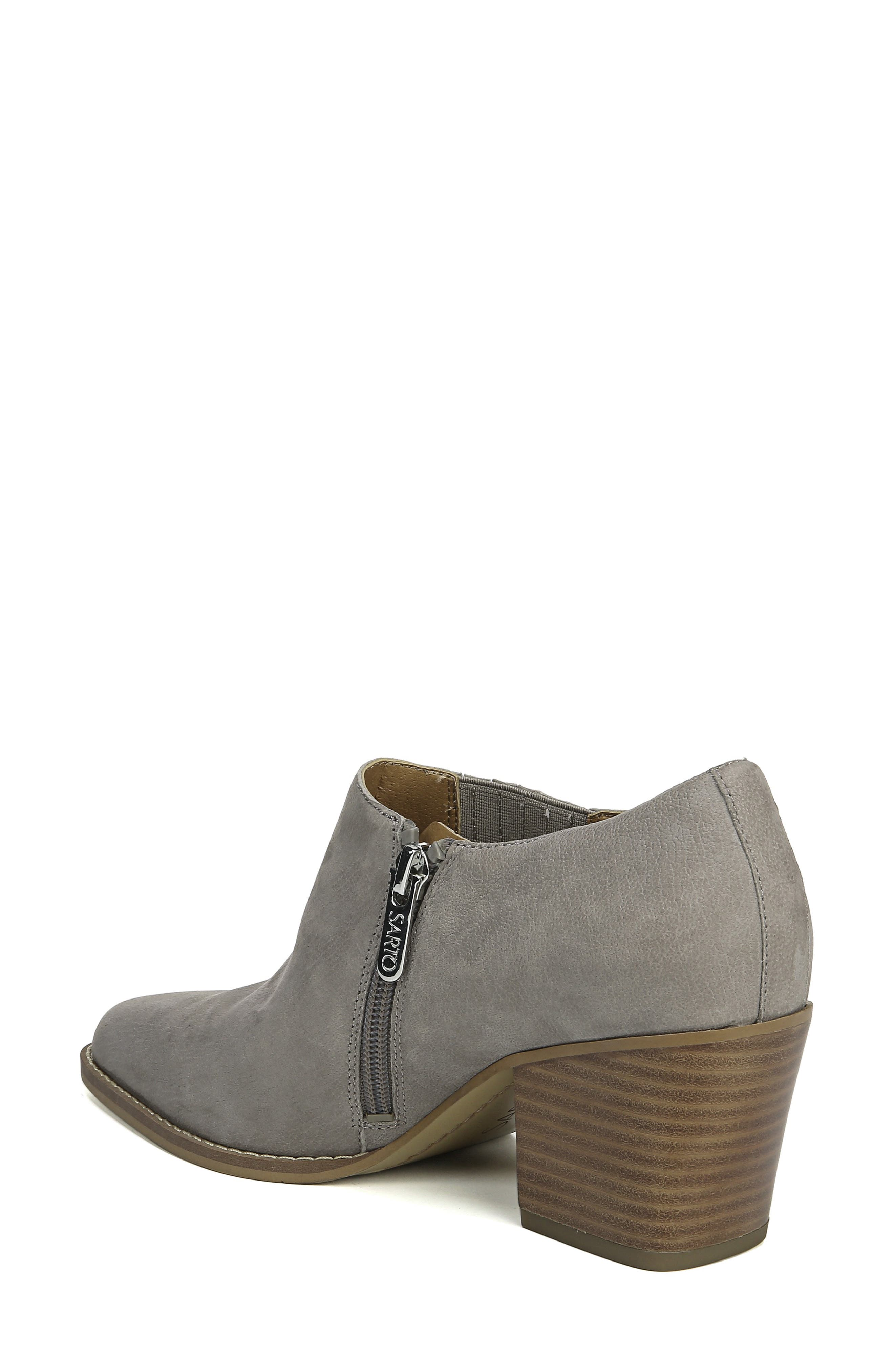 Camella Bootie,                             Alternate thumbnail 2, color,                             GREYSTONE NUBUCK LEATHER