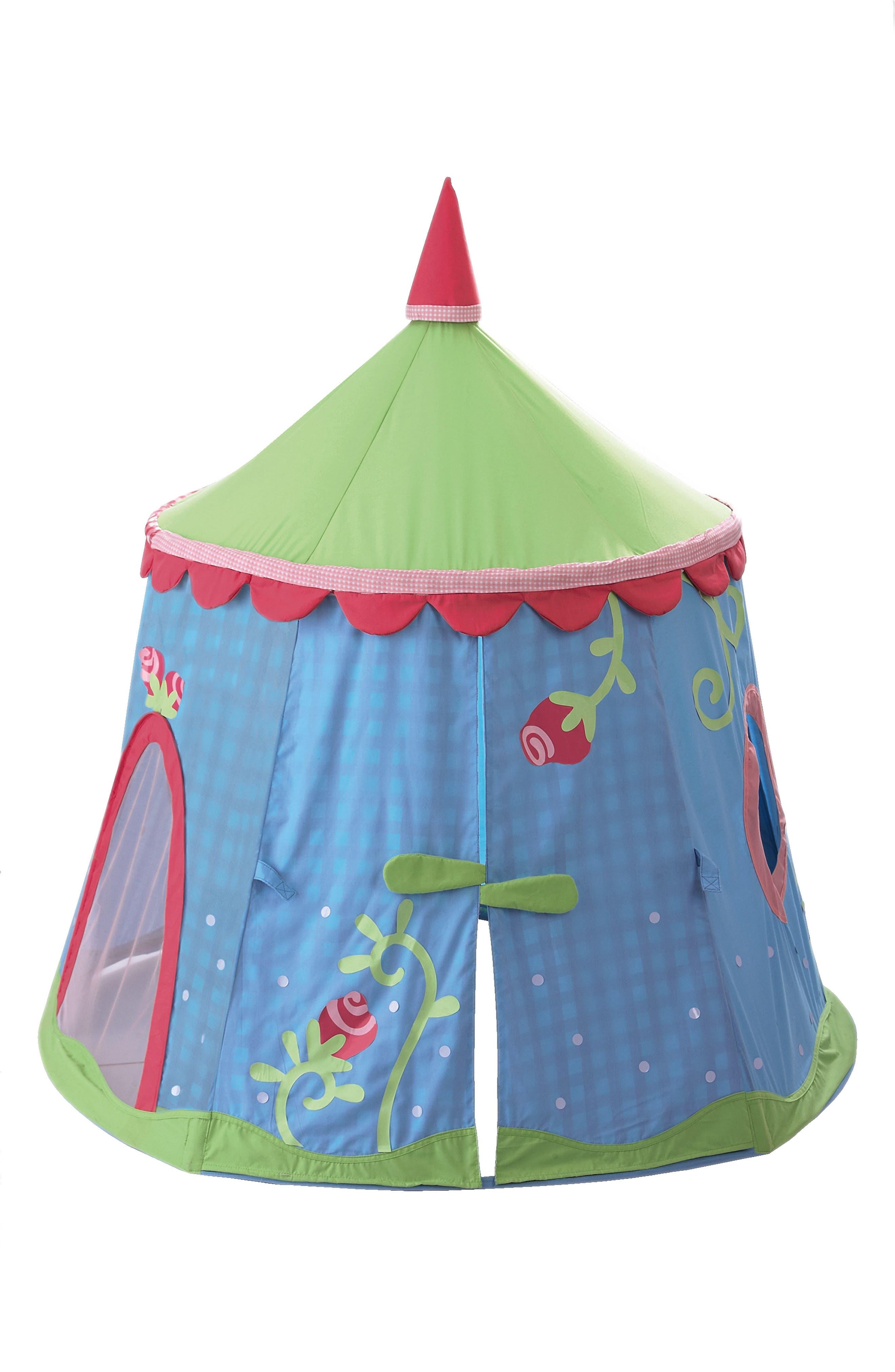 HABA,                             'Caro-Lini' Play Tent,                             Alternate thumbnail 3, color,                             BLUE