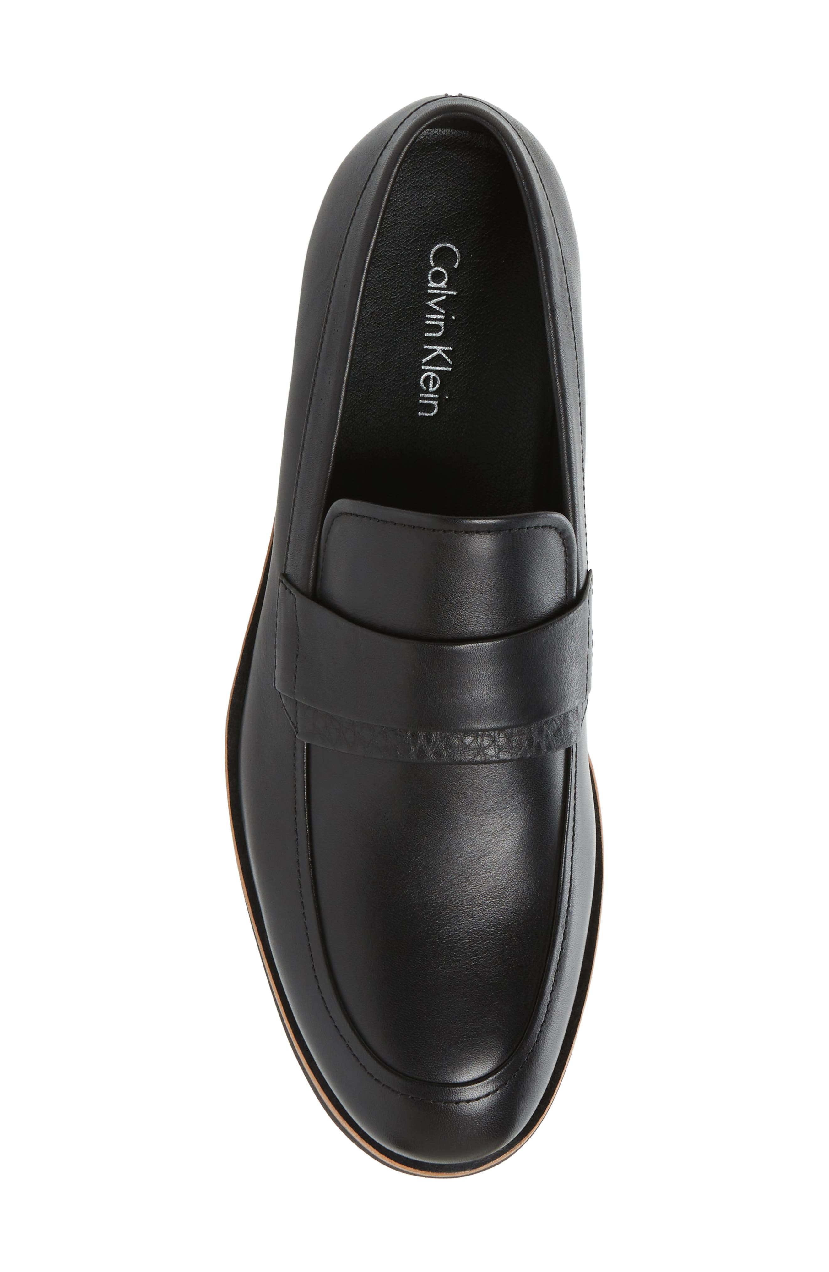 Forbes Loafer,                             Alternate thumbnail 5, color,                             001