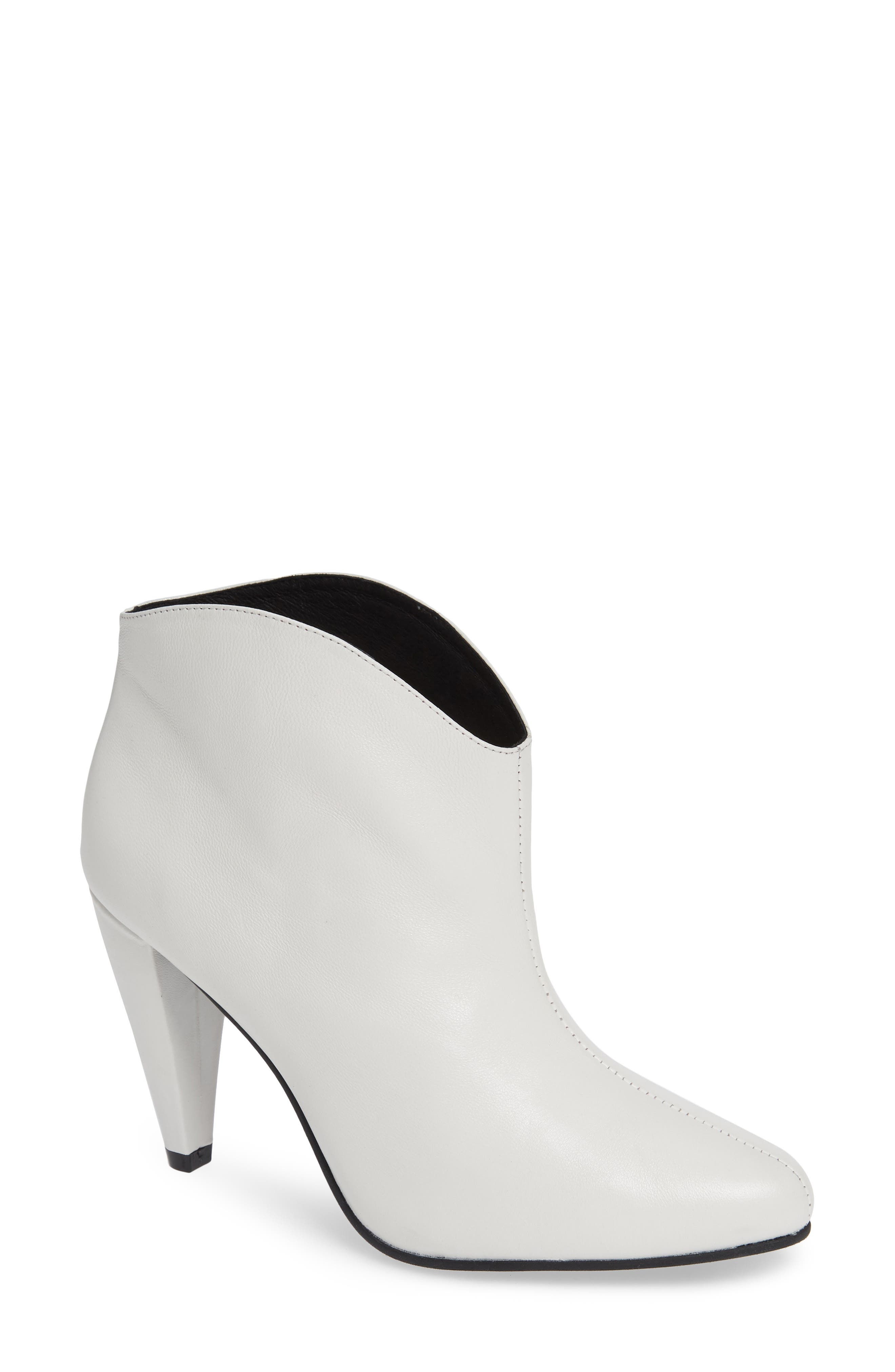 Jeffrey Campbell Furiosa Bootie, White