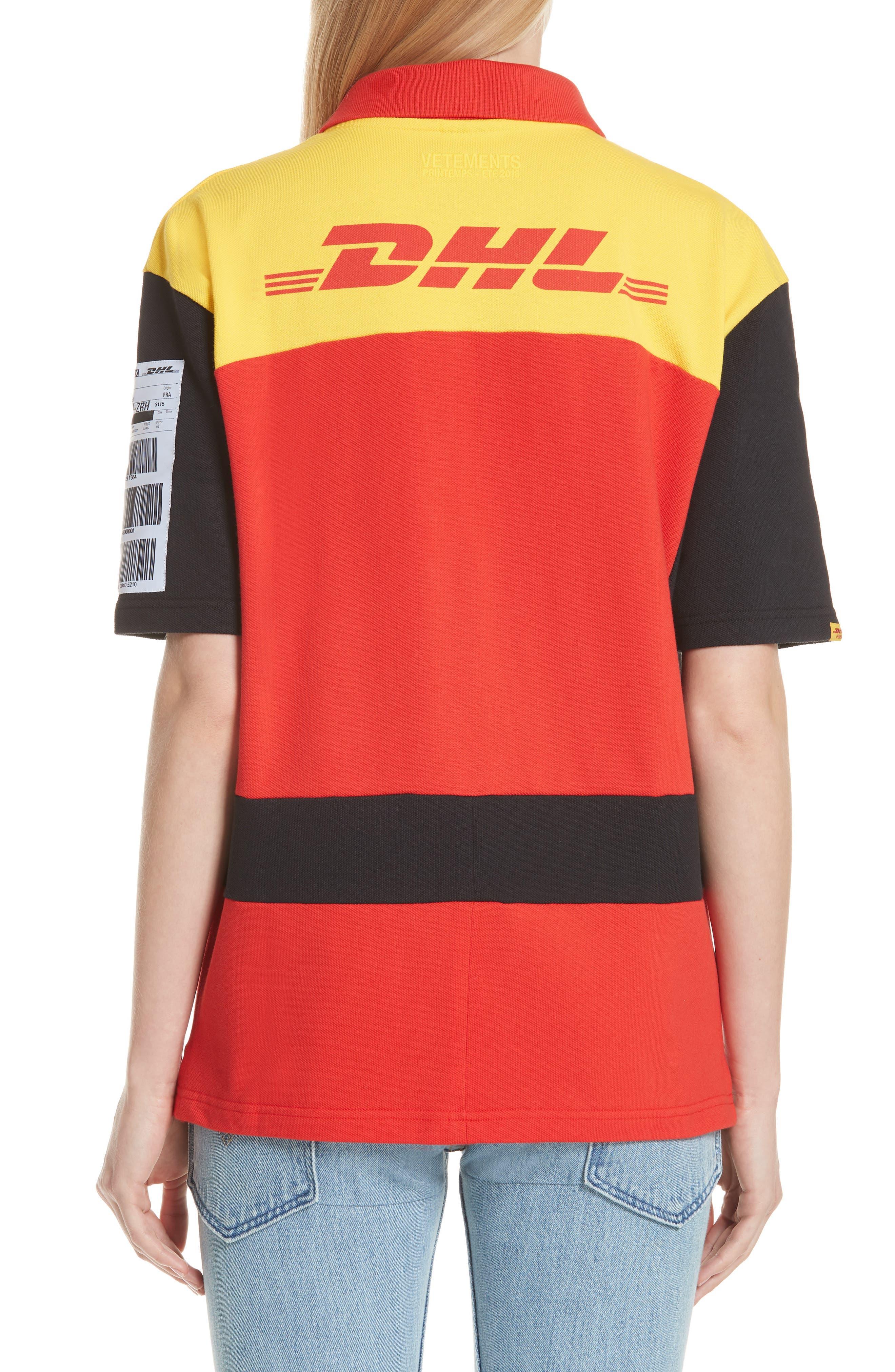 DHL Slim Fit Polo,                             Alternate thumbnail 2, color,                             700