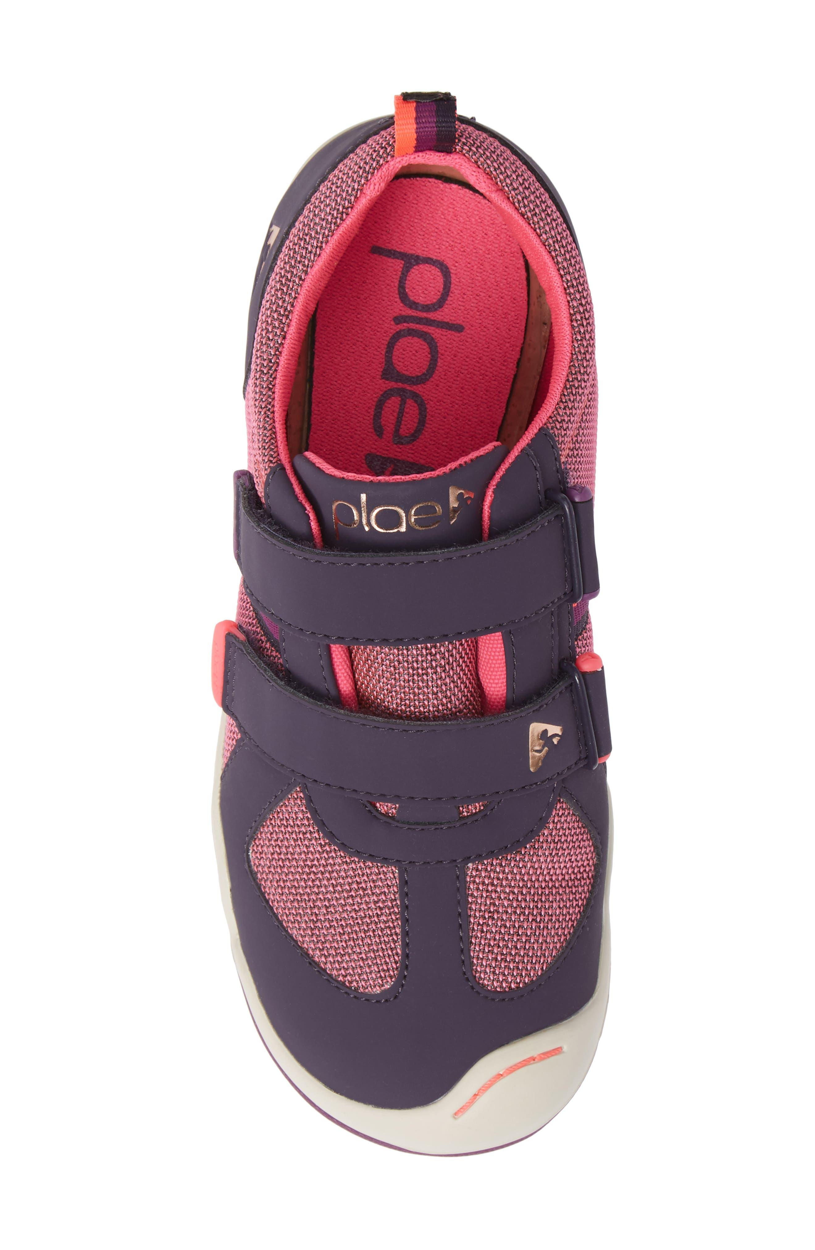 Charlie Customizable Waterproof Sneaker,                             Alternate thumbnail 5, color,                             MYSTIC BERRY