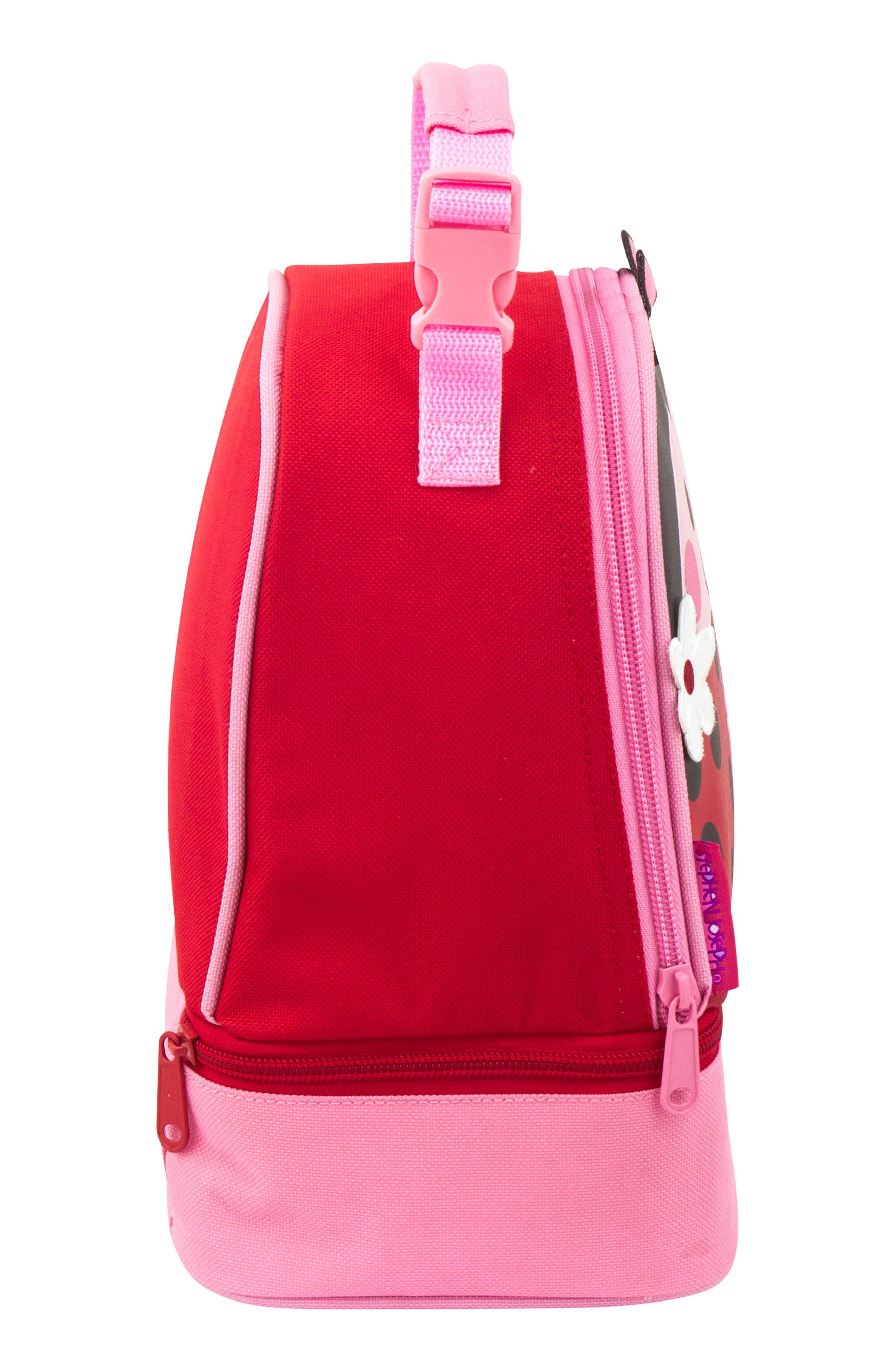 STEPHEN JOSEPH,                             Ladybug Sidekick Backpack & Lunch Pal,                             Alternate thumbnail 6, color,                             LADYBUG