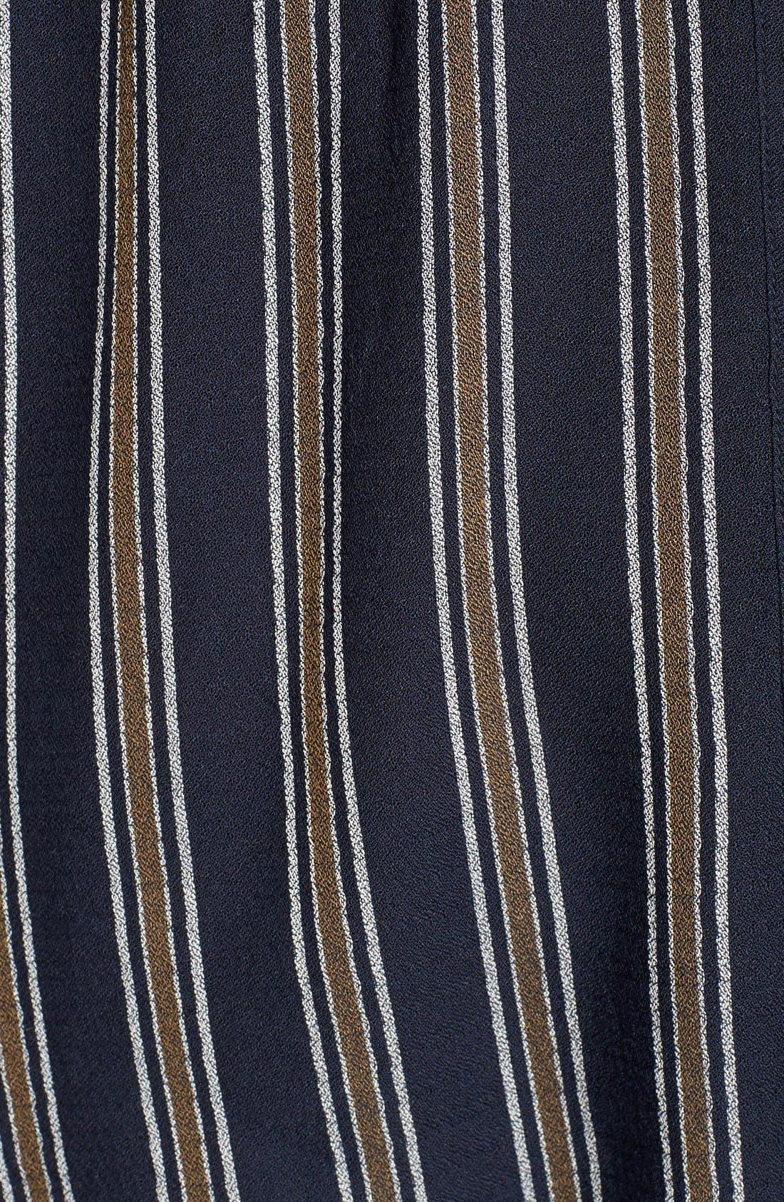 BP.,                             Stripe Button Front Shirt,                             Alternate thumbnail 6, color,                             410