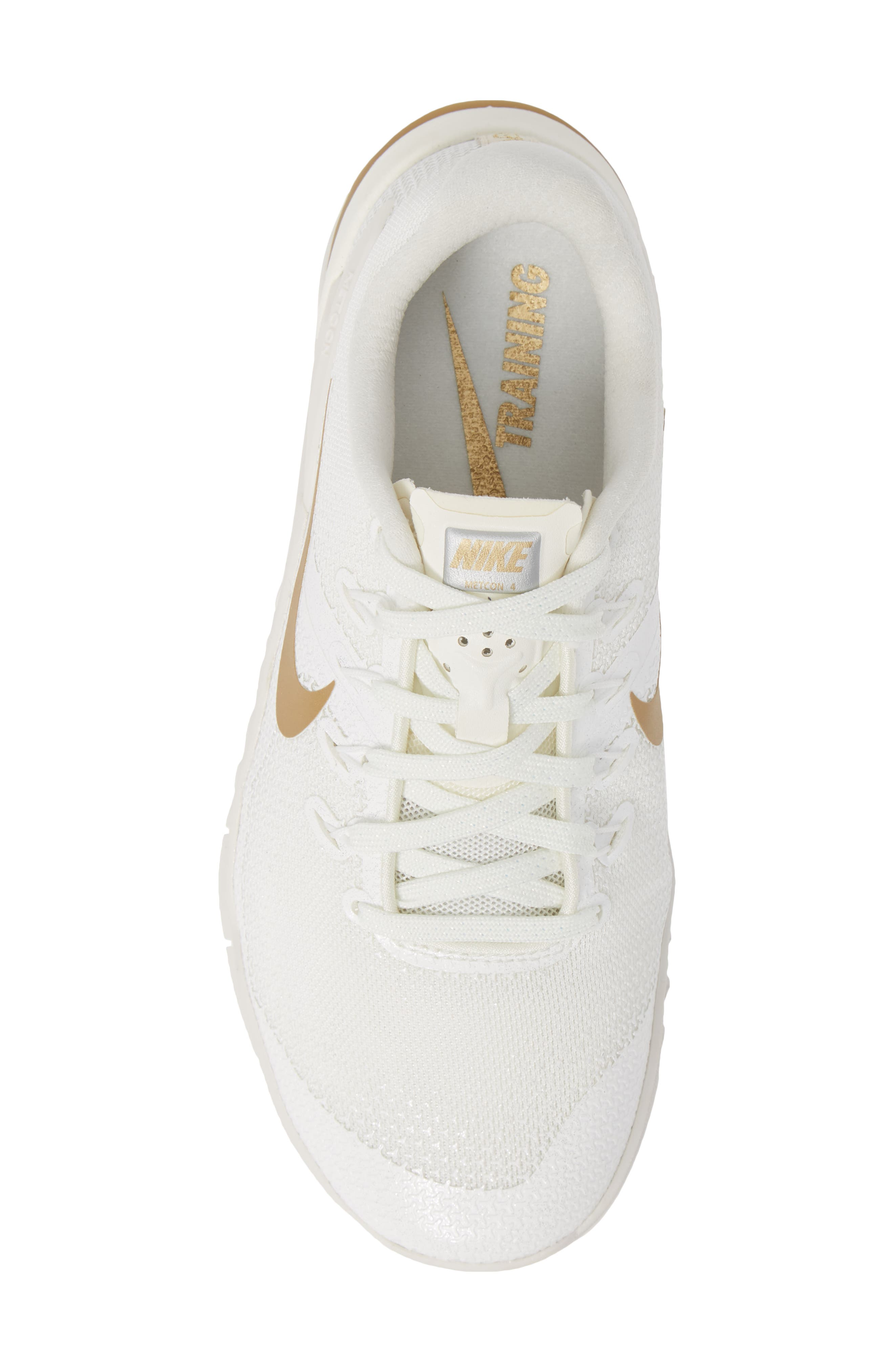 Metcon 4 Training Shoe,                             Alternate thumbnail 5, color,                             CHAMPAGNE