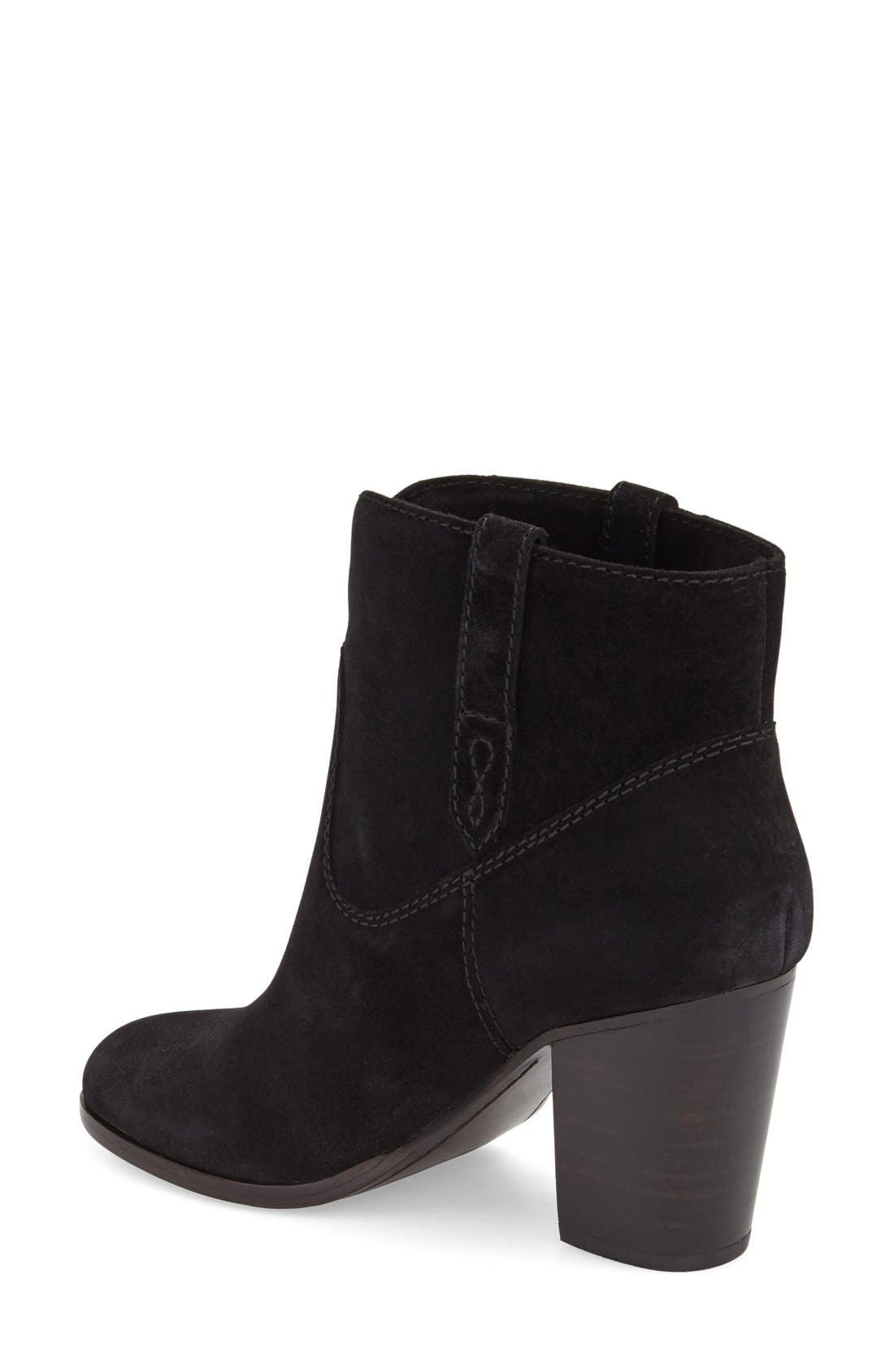 FRYE,                             'Myra' Bootie,                             Alternate thumbnail 2, color,                             001