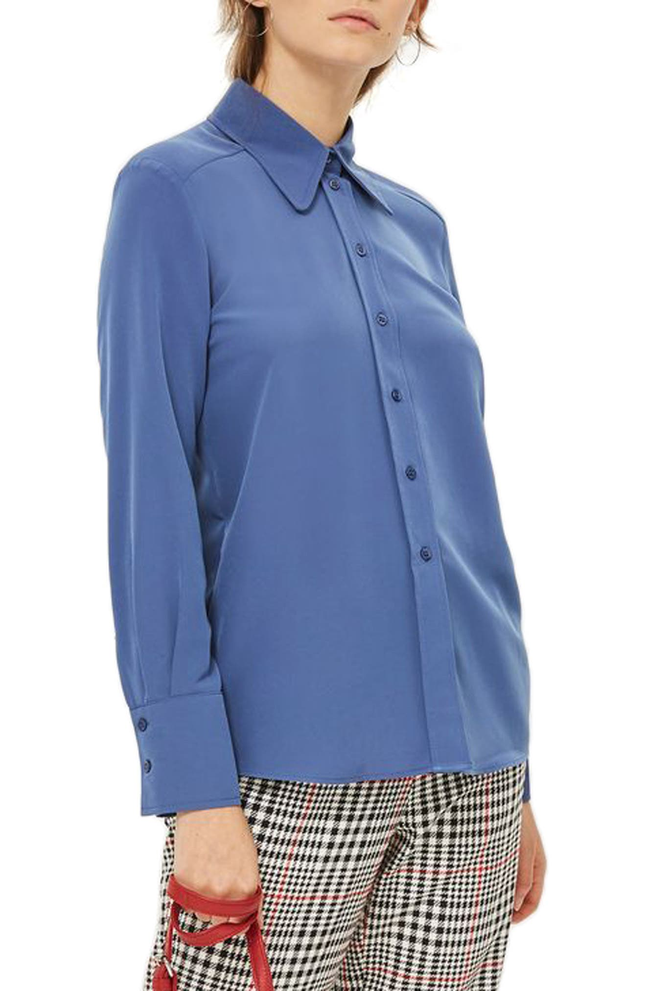 '70s Collar Shirt,                             Main thumbnail 1, color,                             400